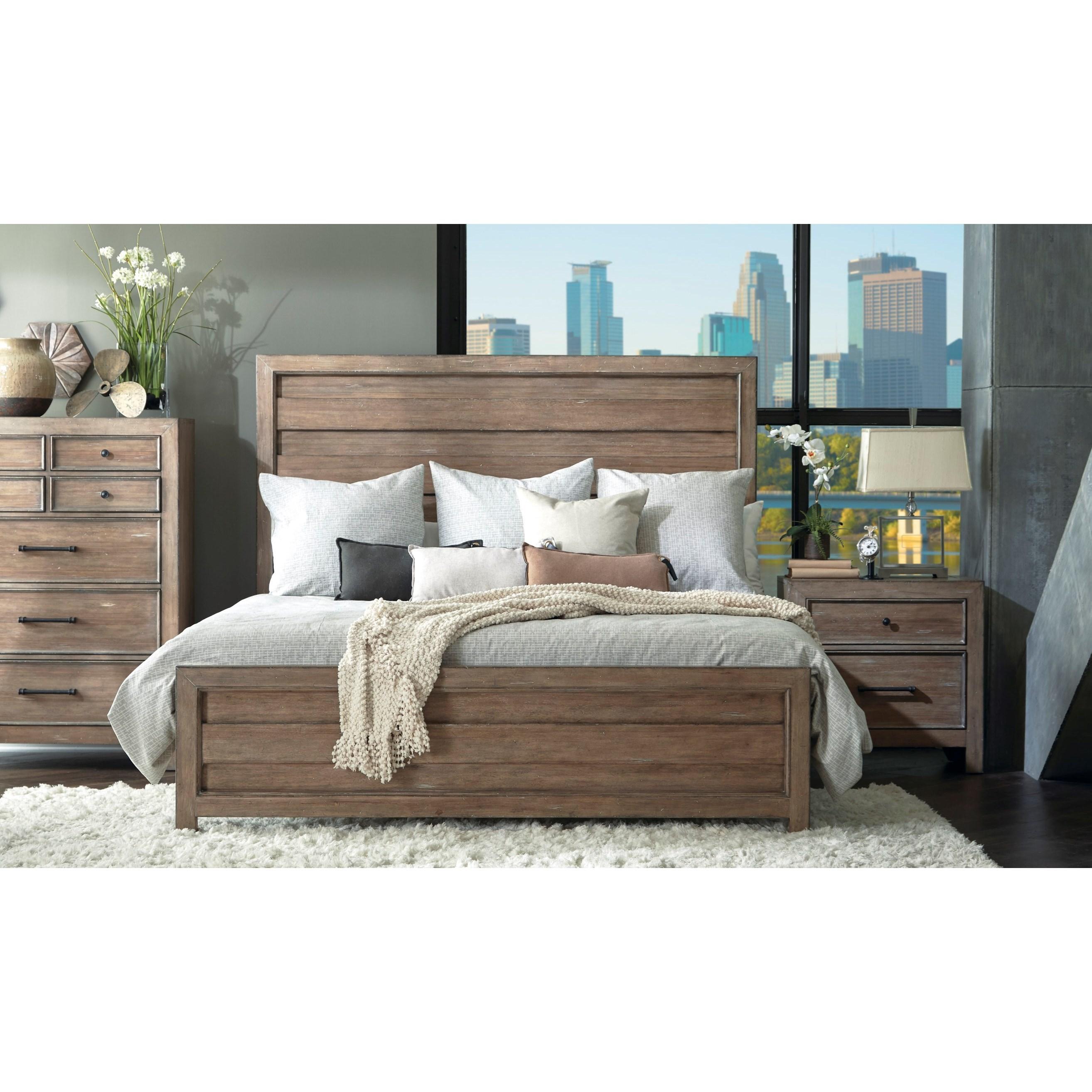 Samuel Lawrence Flatbush Queen Bedroom Group Nassau Furniture Bedroom Groups