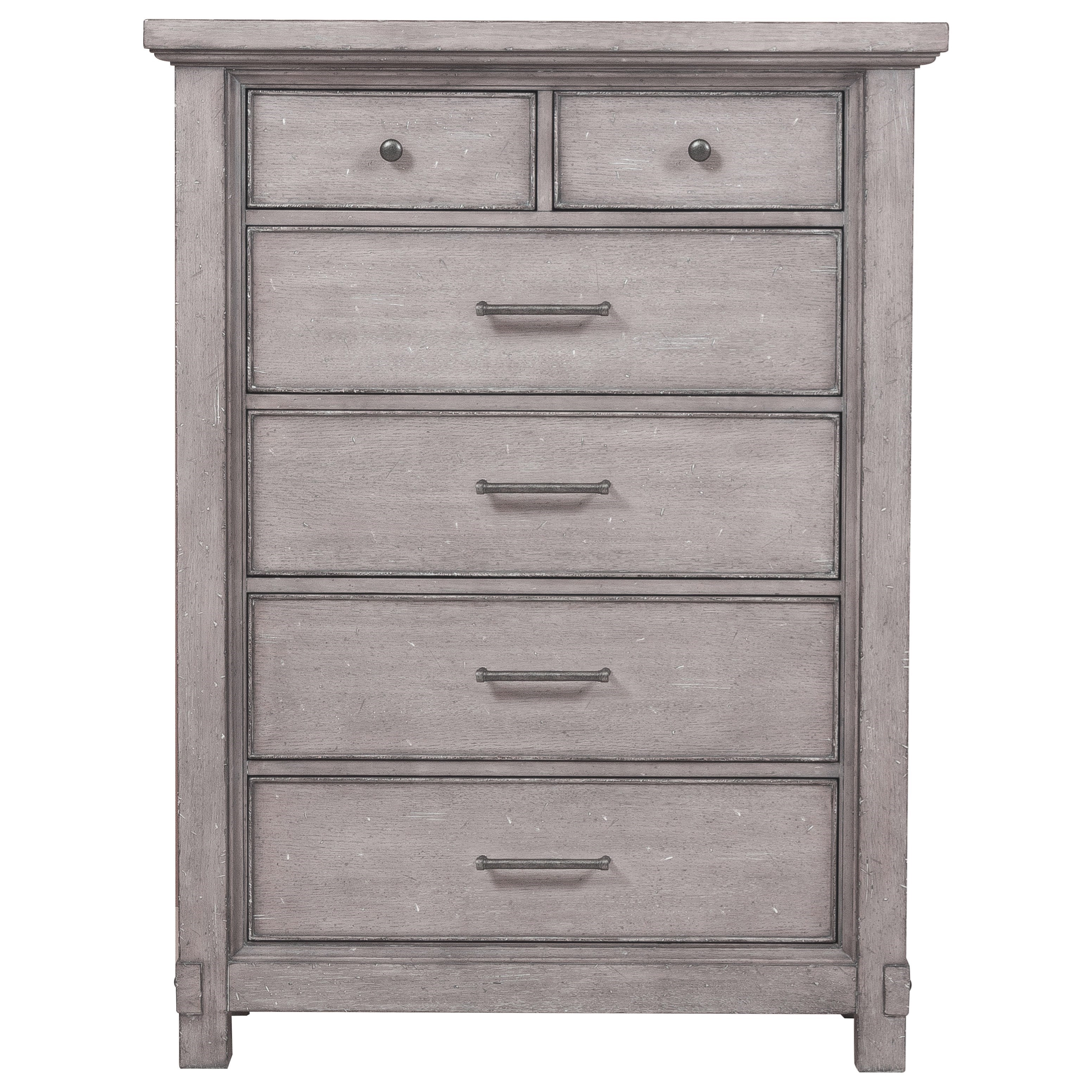 Samuel Lawrence Prospect Hill 6 Drawer Chest With Iron Hardware Boulevard Home Furnishings