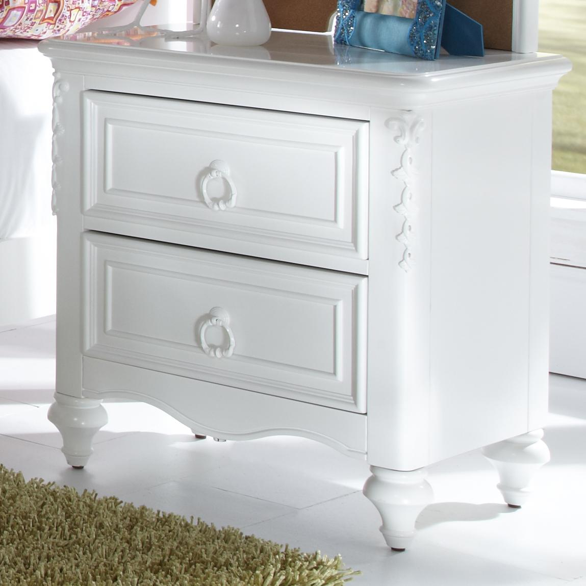 Sarasota 2 drawer nightstand with hidden storage compartment morris home night stands Morris home furniture outlet