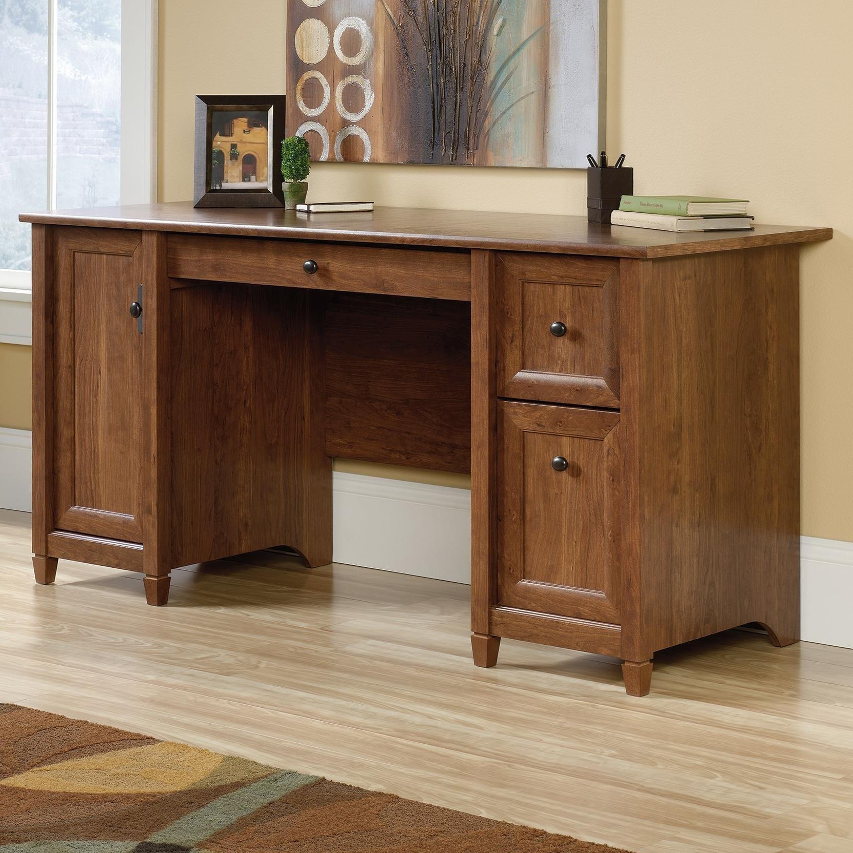 Sauder Edge Water Casual puter Desk Becker Furniture