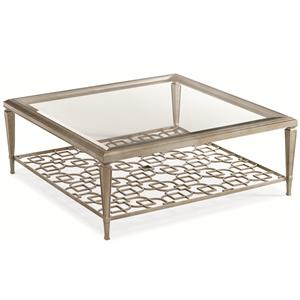 caracole caracole classic quotsociablesquot 50 inch square With 50 inch square coffee table