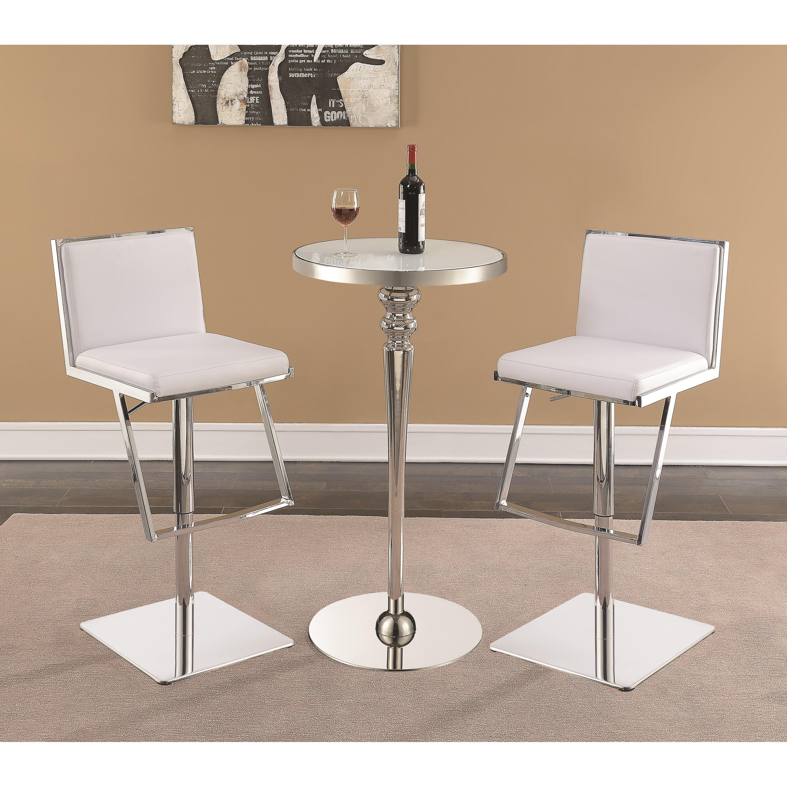 Scott Living Dixon Contemporary Bar Table And Stool Set