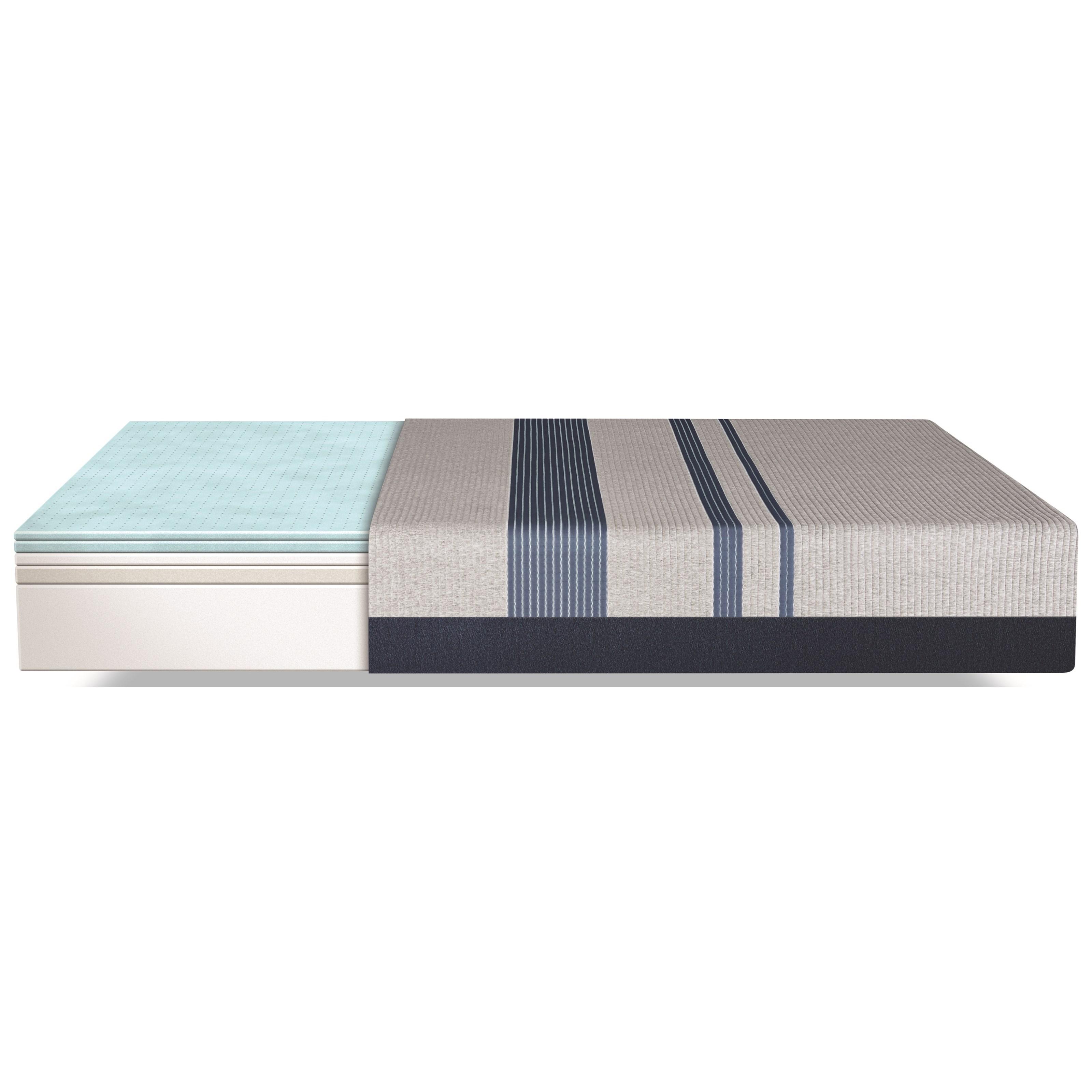 serta icomfort blue 300 firm 500801288 1050 500800199 5050 queen firm gel memory foam mattress. Black Bedroom Furniture Sets. Home Design Ideas