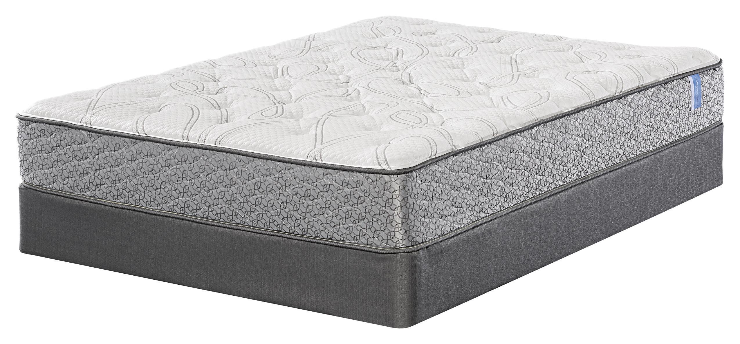 Serta majestic sleep ludlam twin extra long plush mattress for How long does a spring mattress last