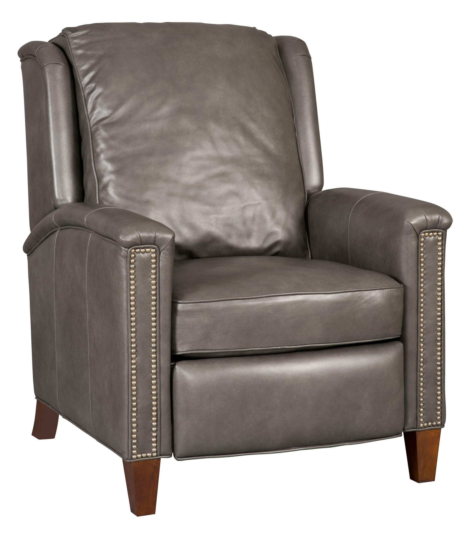 Reclining Chairs Transitional High Leg Recliner by Hooker Furniture at Miller Waldrop Furniture and Decor