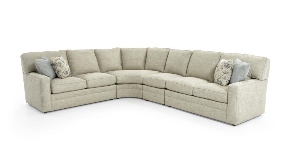 sherrill design your own 96ll tfbu ac xbu cc xbu rl tfbu madras 4 pc sectional sofa baer 39 s. Black Bedroom Furniture Sets. Home Design Ideas