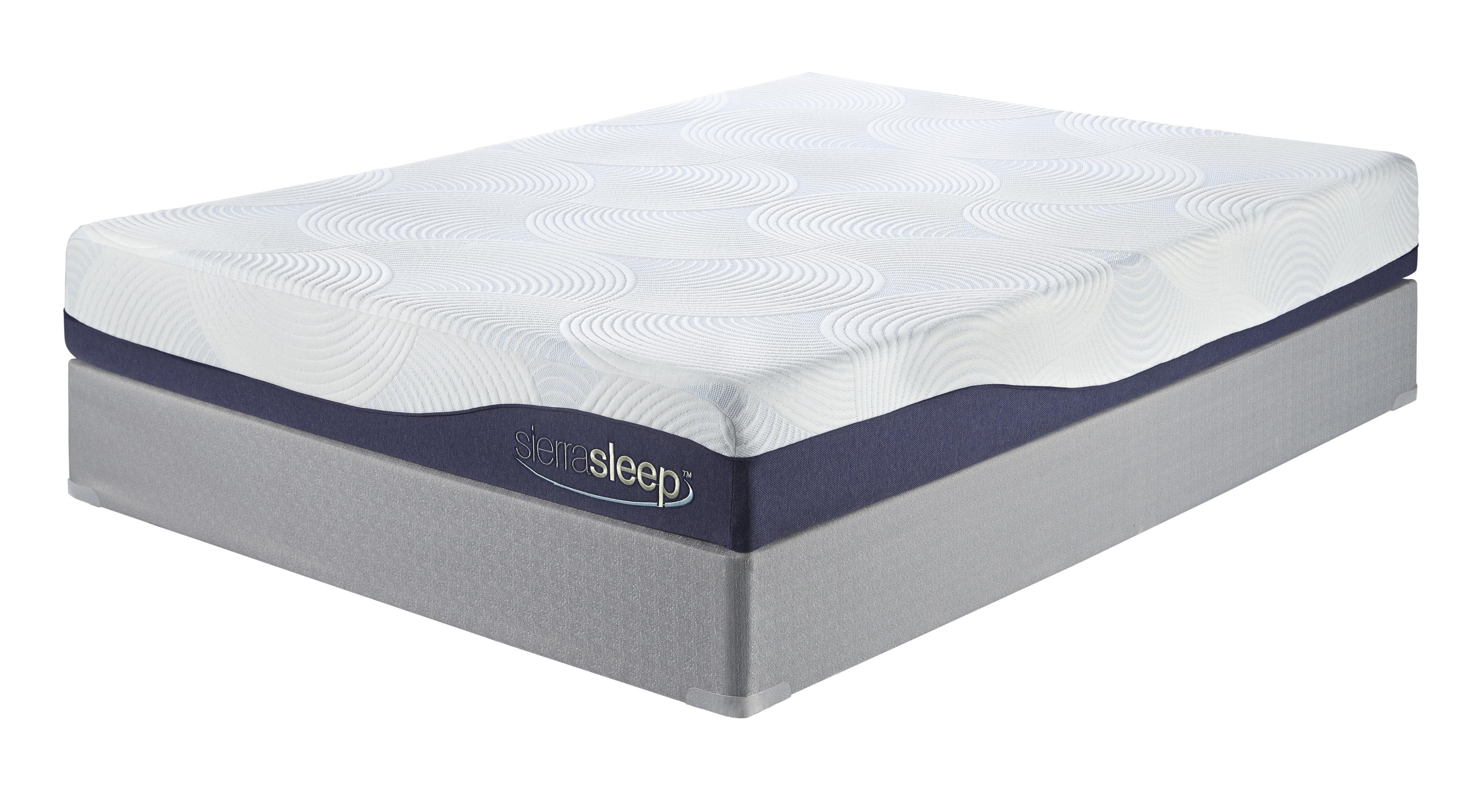 "Sierra Sleep MyGel Queen 9"" Gel Memory Foam Mattress and"