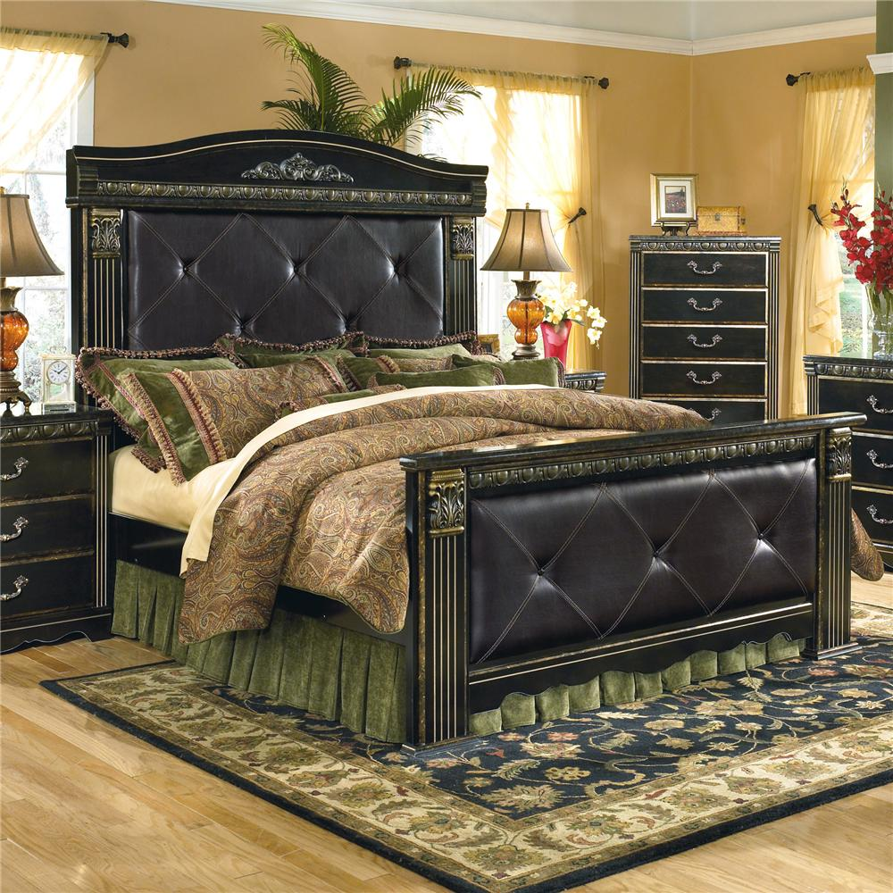 Signature Design By Ashley Coal Creek Upholstered King