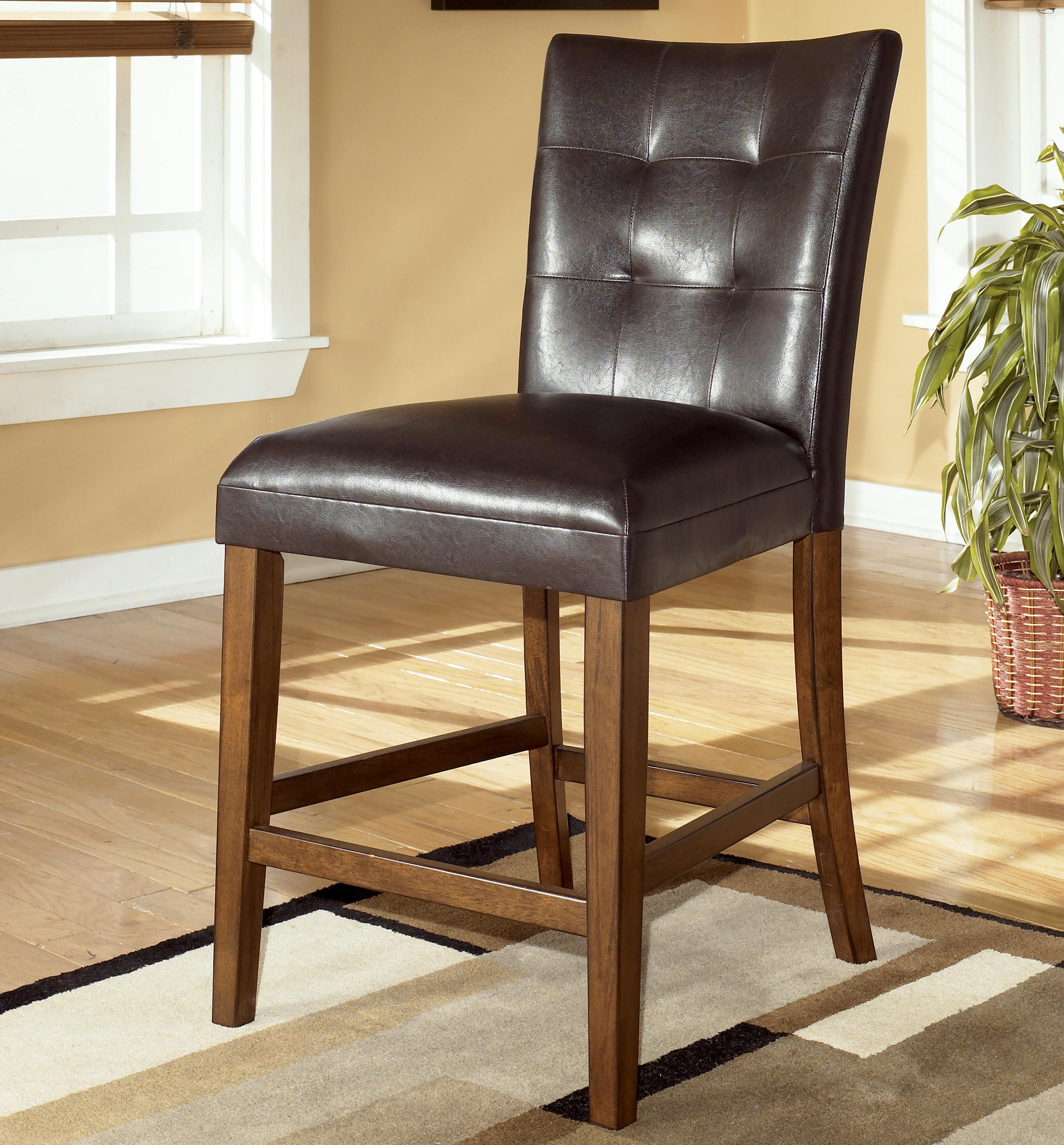 Signature design by ashley lacey d328 124 24 upholstered for Furniture 24