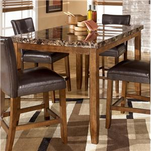 Countertop Height Bench : ... Square Counter Height Pub Table - AHFA - Pub Table Dealer Locator