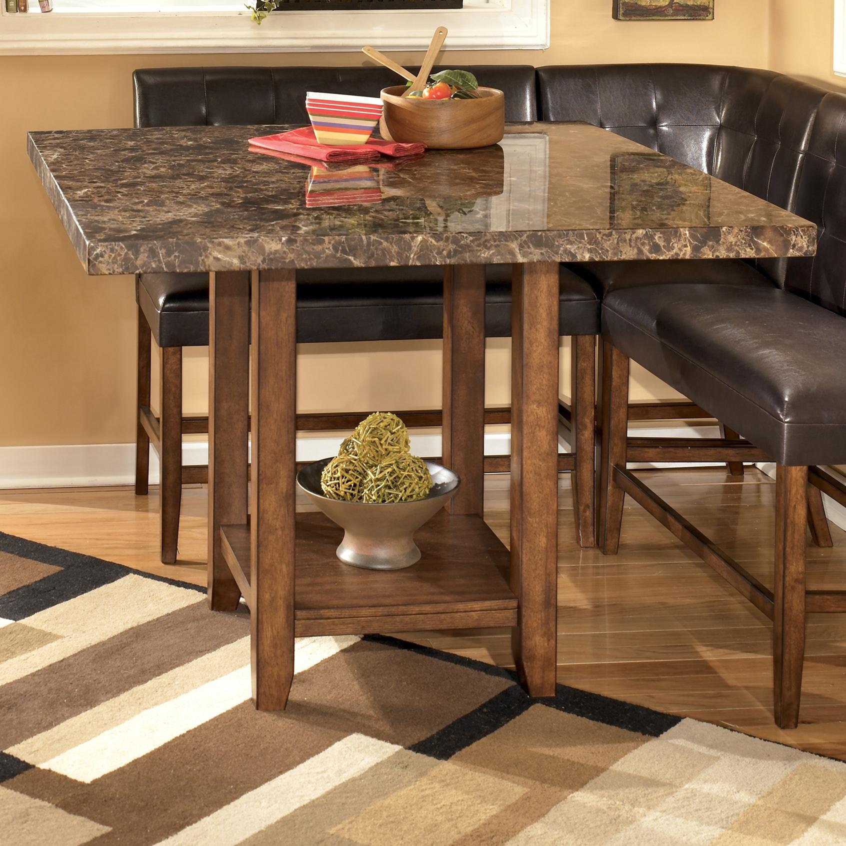 Counter Height Table Ashley Furniture : ... Square Counter Height Pub Table - Del Sol Furniture - Pub Tables
