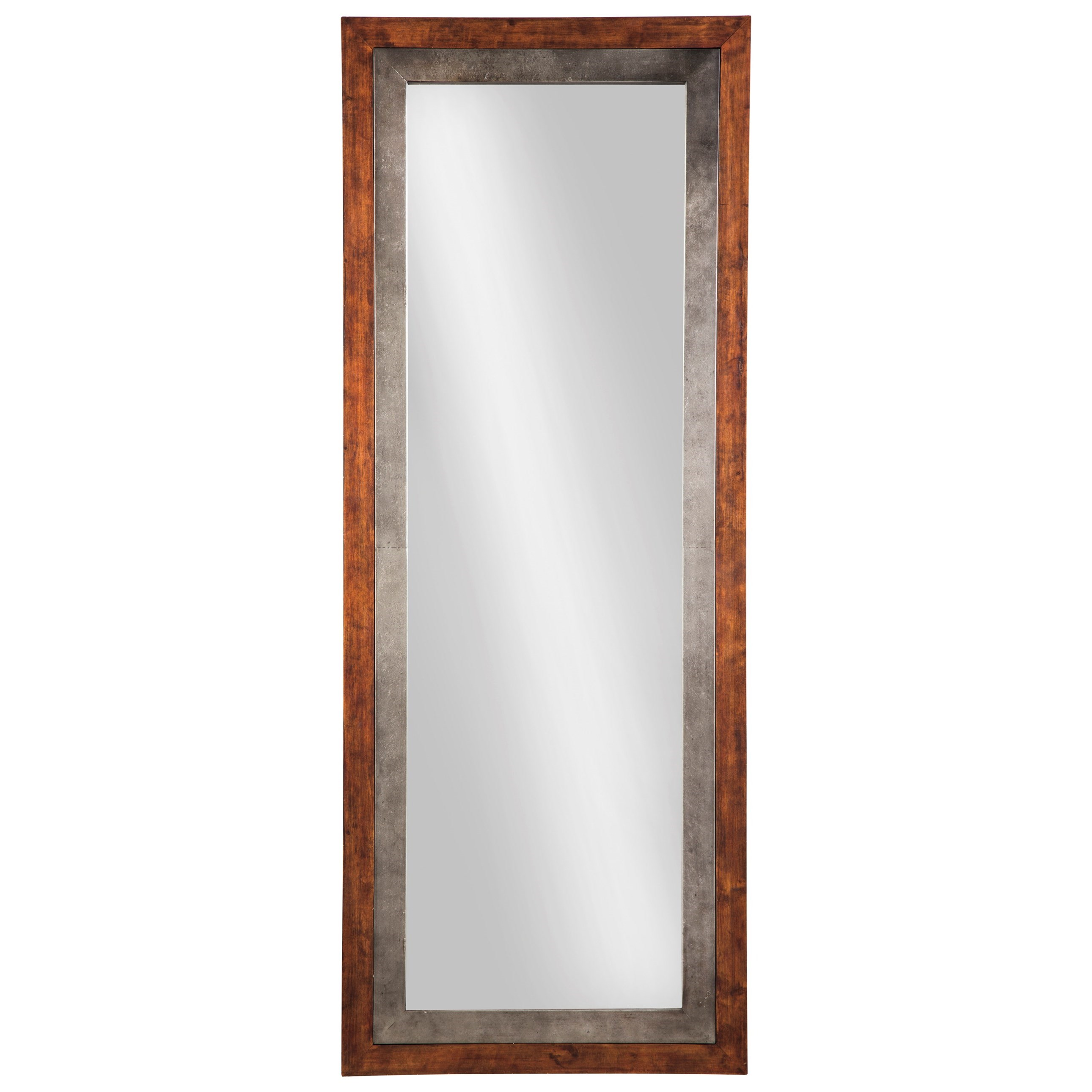 Signature design by ashley accent mirrors niah brown for Accent mirrors