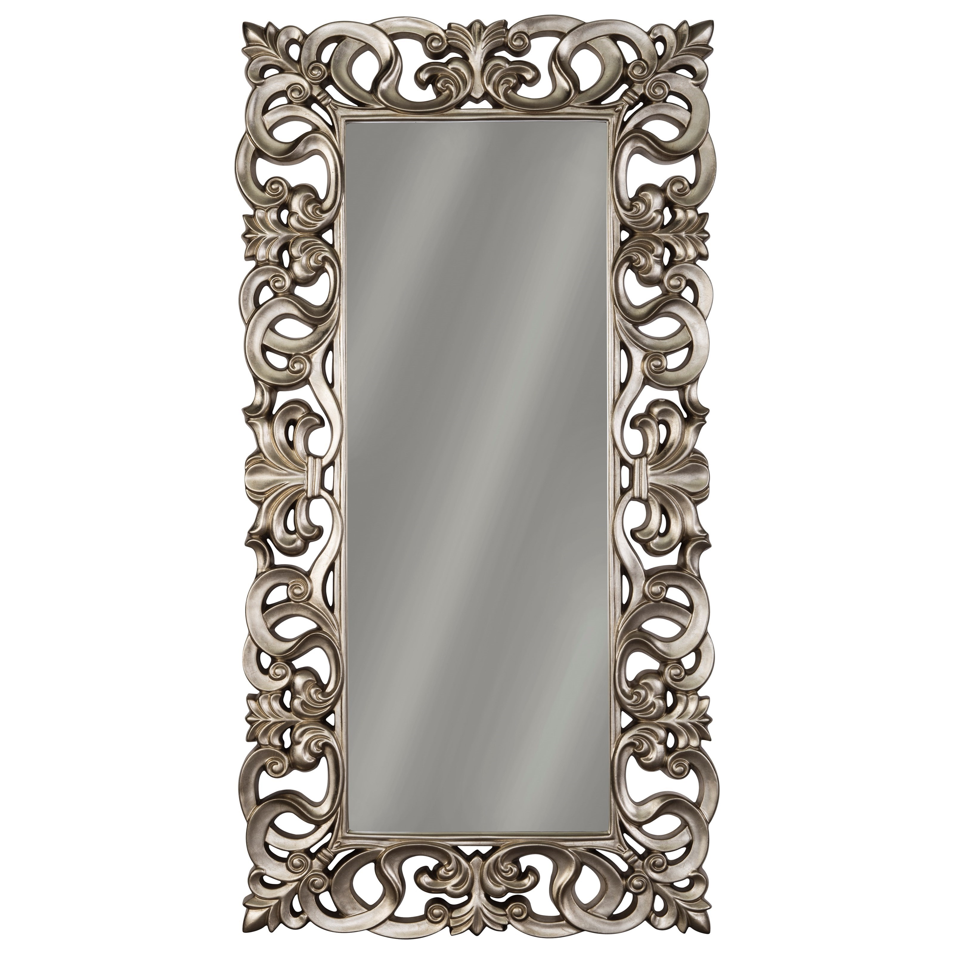 Signature design by ashley accent mirrors a8010123 lucia for Accent mirrors