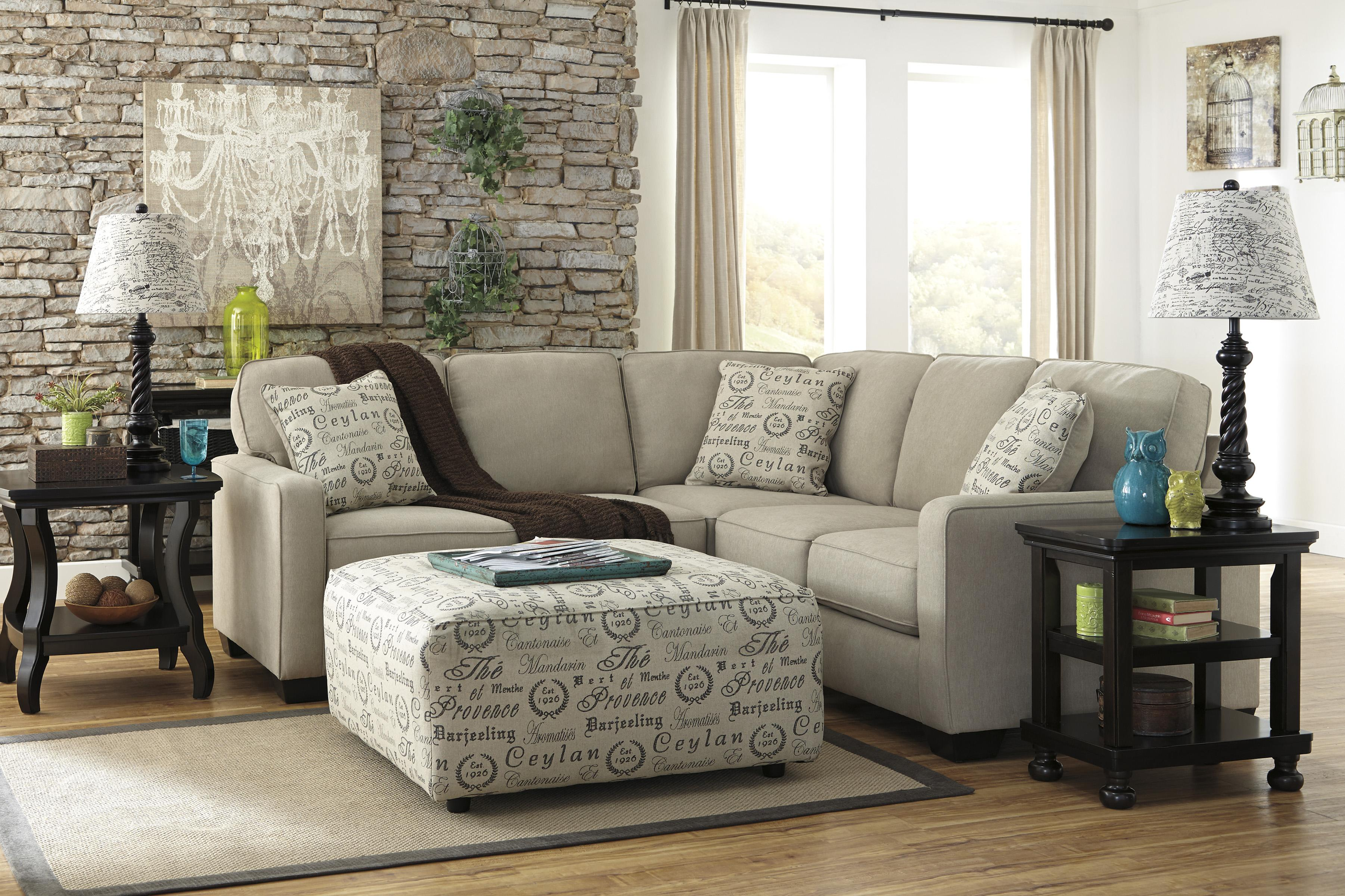 Signature Design By Ashley Alenya Quartz Stationary Living Room Group Value City Furniture