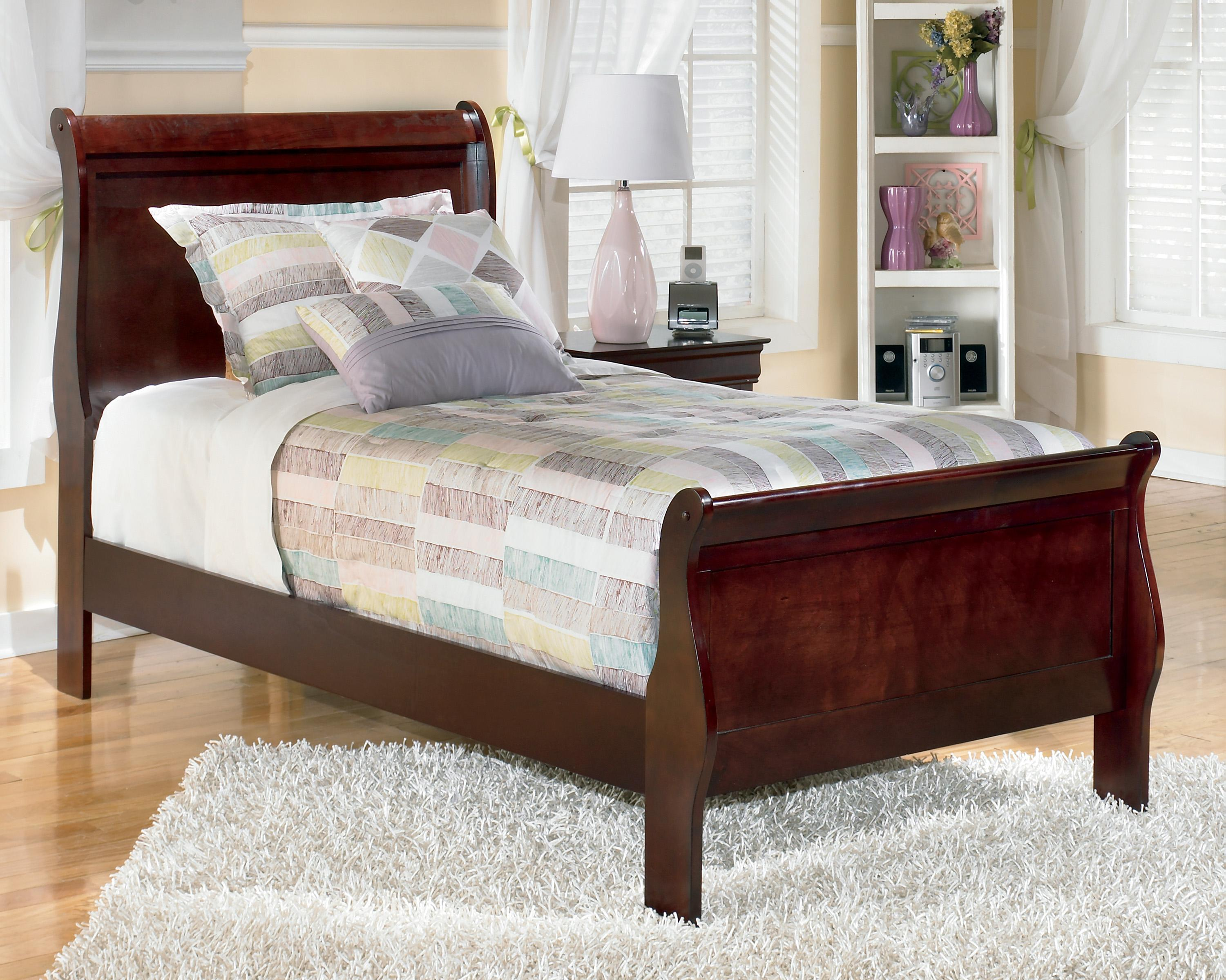 Signature Design By Ashley Alisdair Twin Sleigh Bed Olinde 39 S Furniture Sleigh Beds