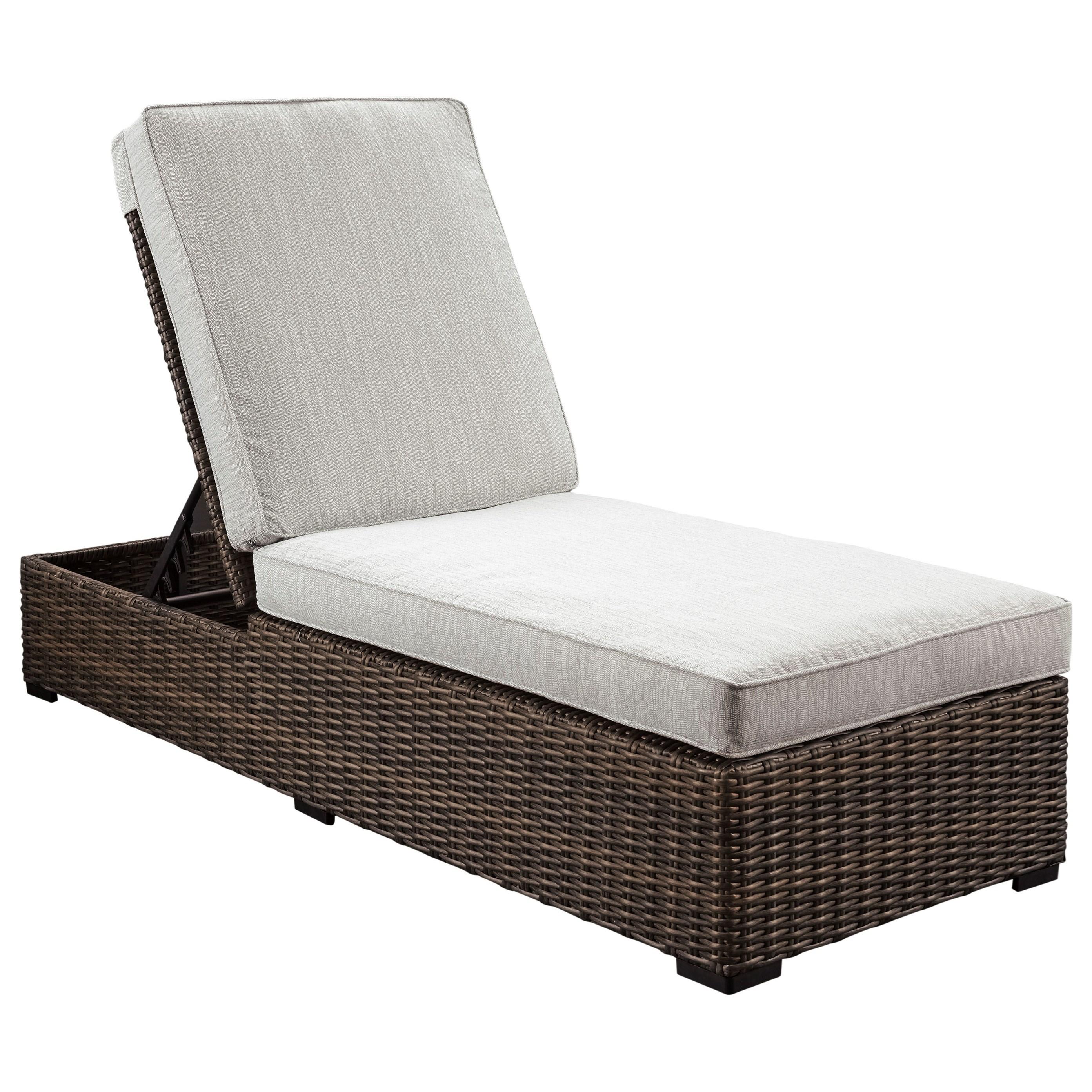 signature design by ashley alta grande adjustable chaise. Black Bedroom Furniture Sets. Home Design Ideas