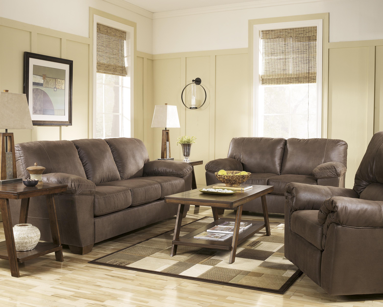 Signature Design By Ashley Amazon Walnut Stationary Living Room Group Way