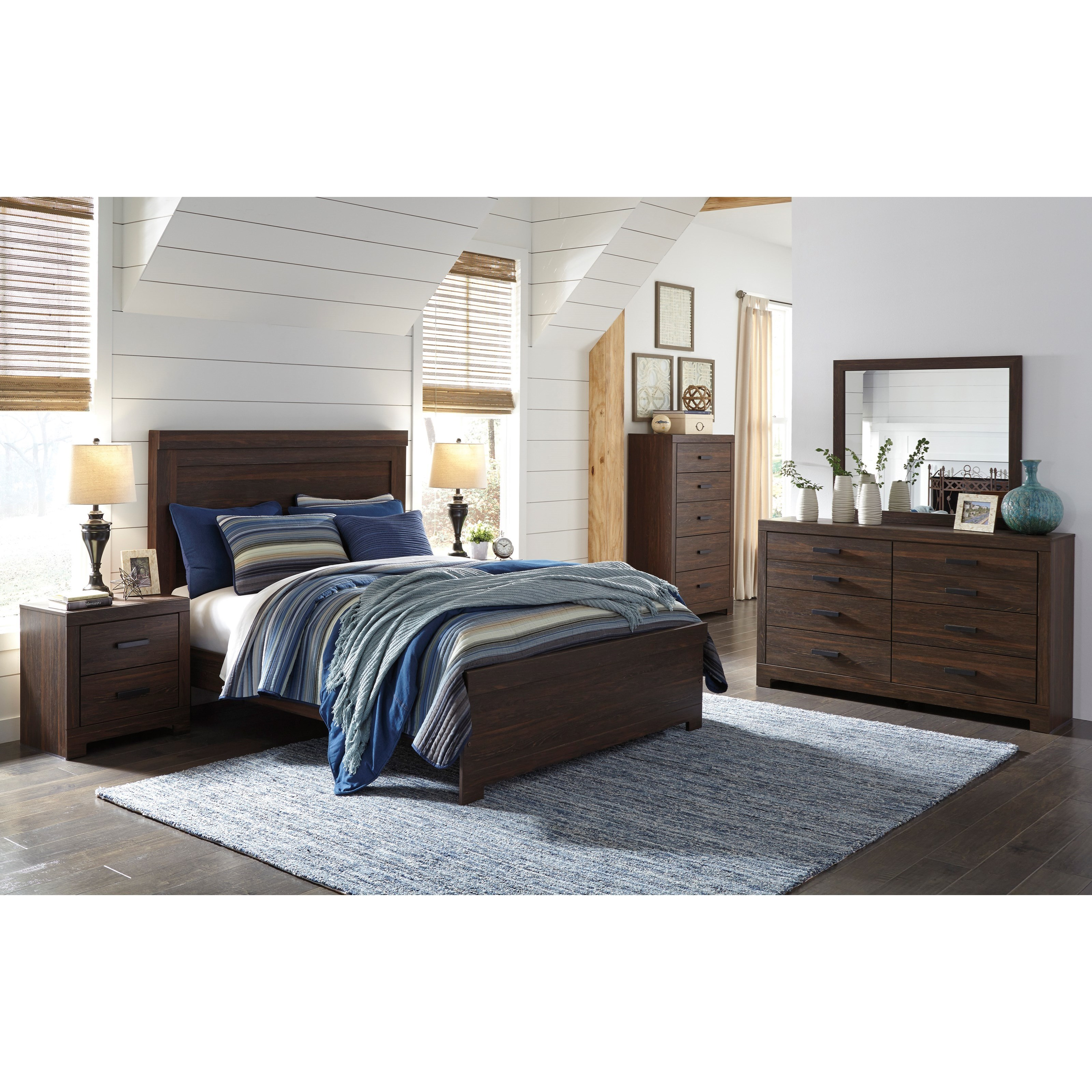 Signature Design By Ashley Arkaline Queen Bedroom Group Olinde 39 S Furnit