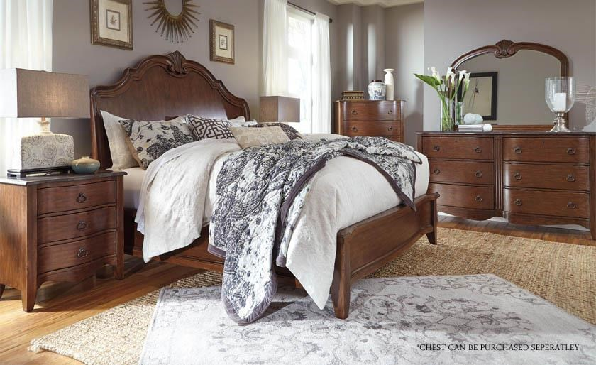 by ashley balinder queen 4 piece bedroom group at royal furniture