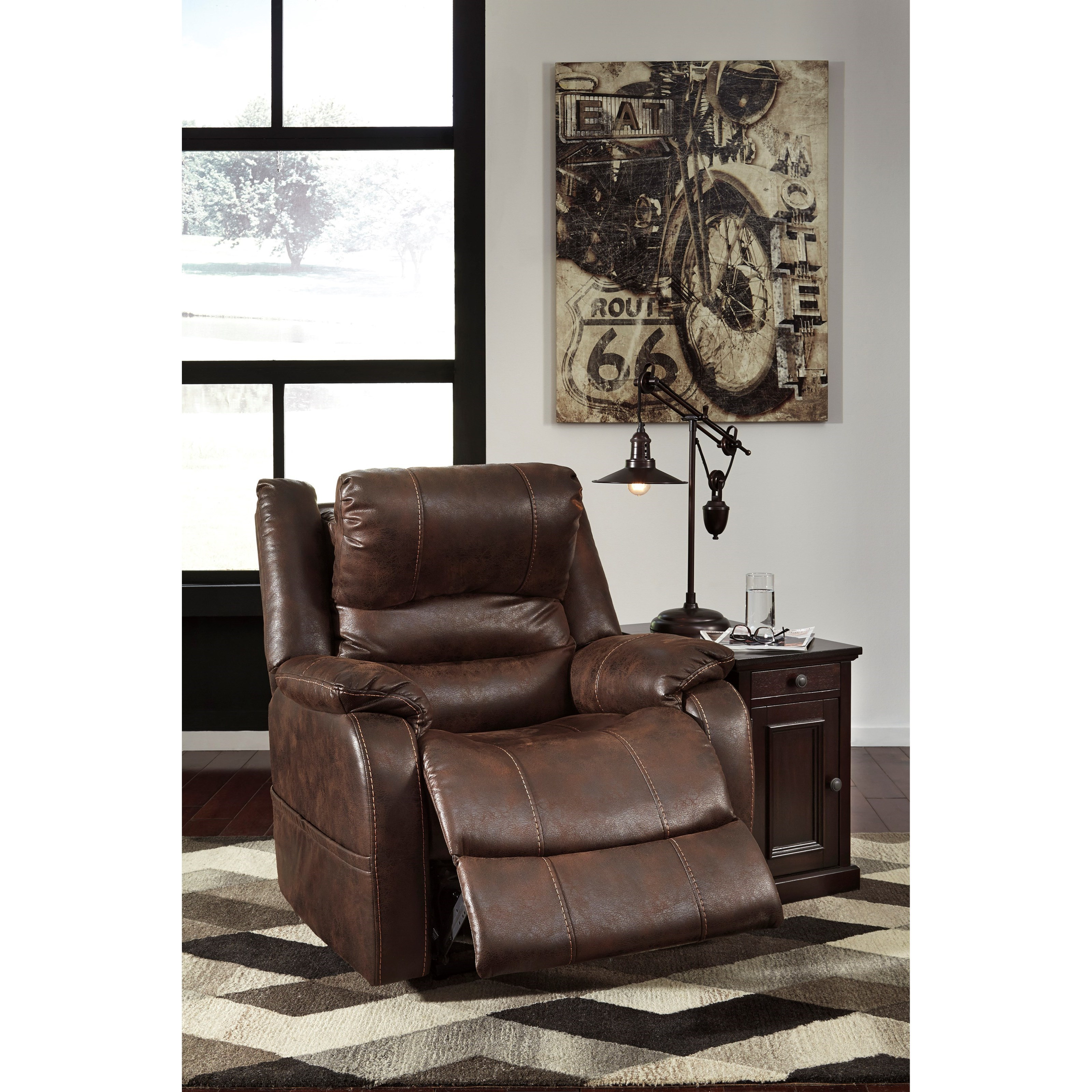 Signature Design by Ashley Barling Faux Leather Power