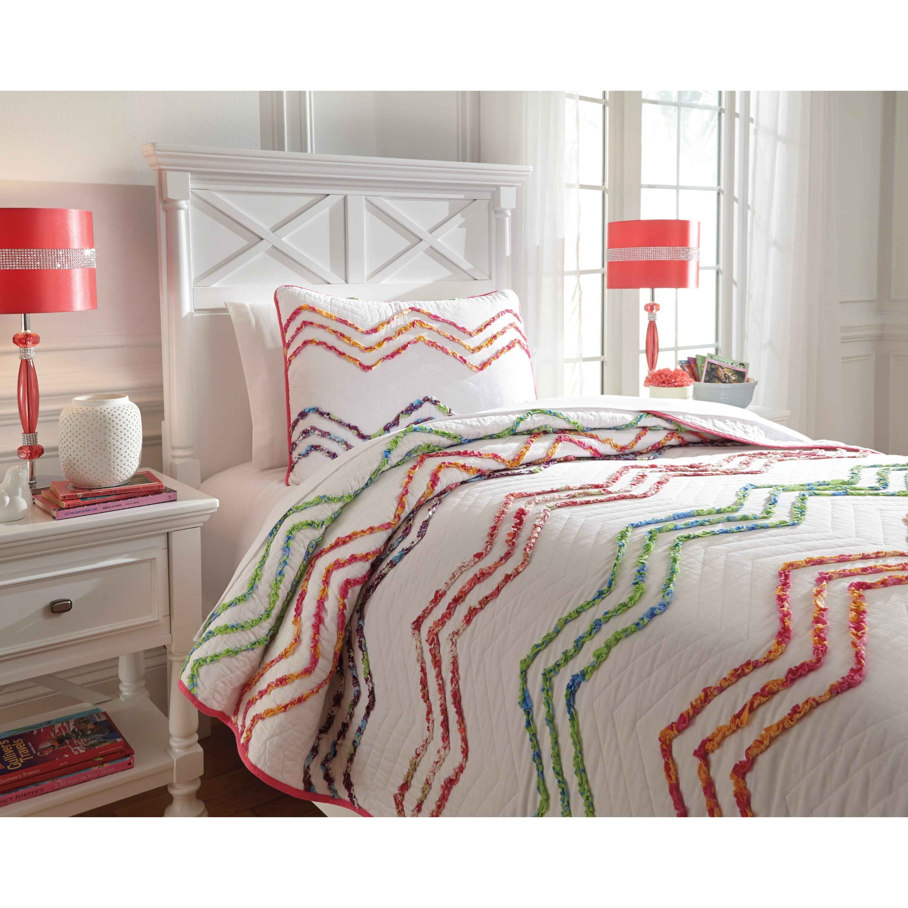 Signature Design by Ashley Bedding Sets Twin Lacentera Quilt Set Beck s