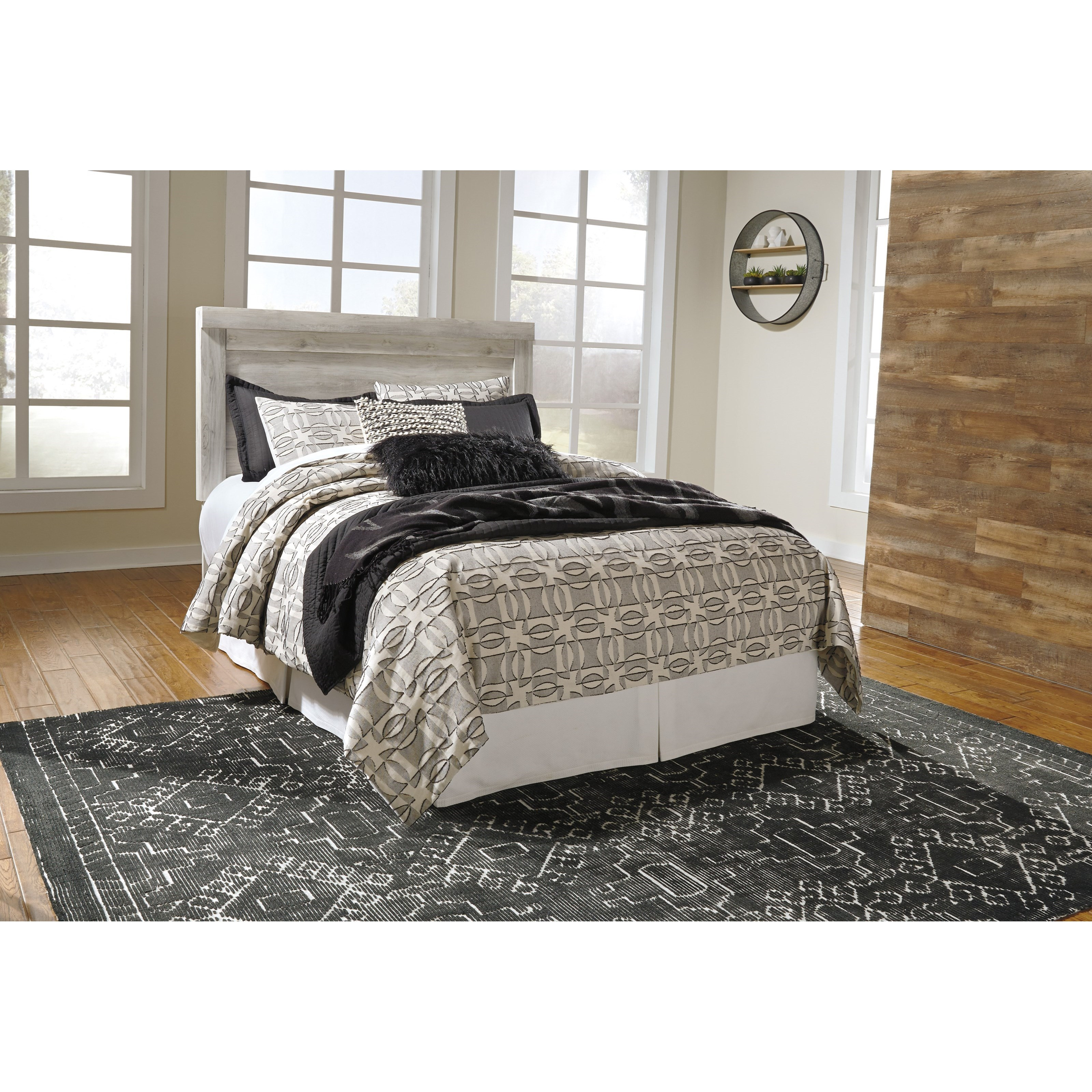 Signature design by ashley bellaby casual queen panel for Royal headboard