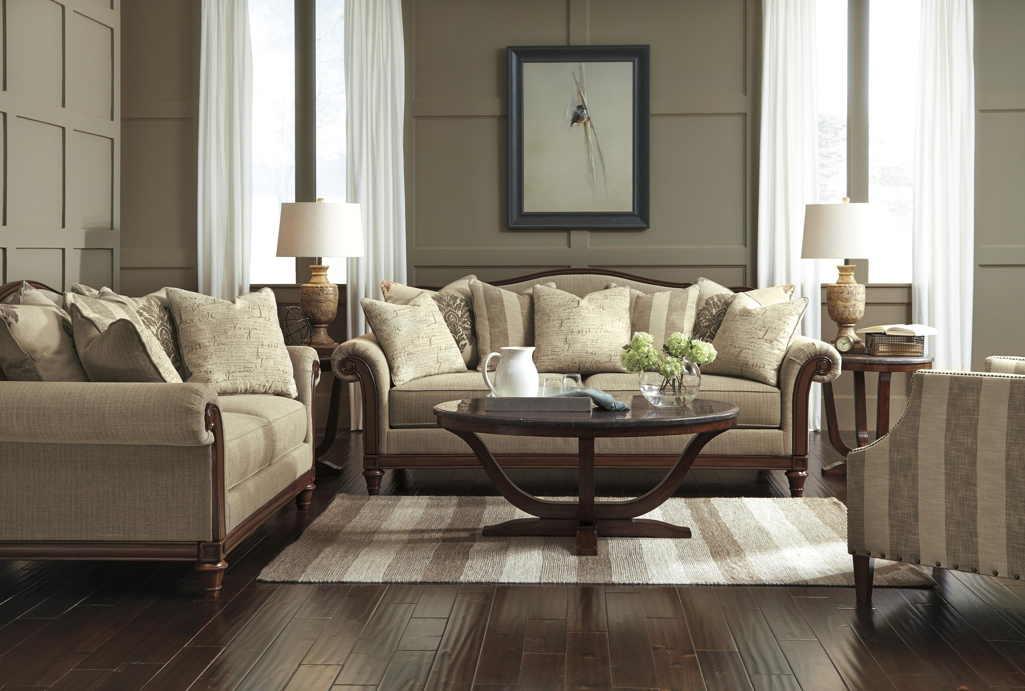 Signature Design By Ashley Berwyn View Stationary Living Room Group Wayside