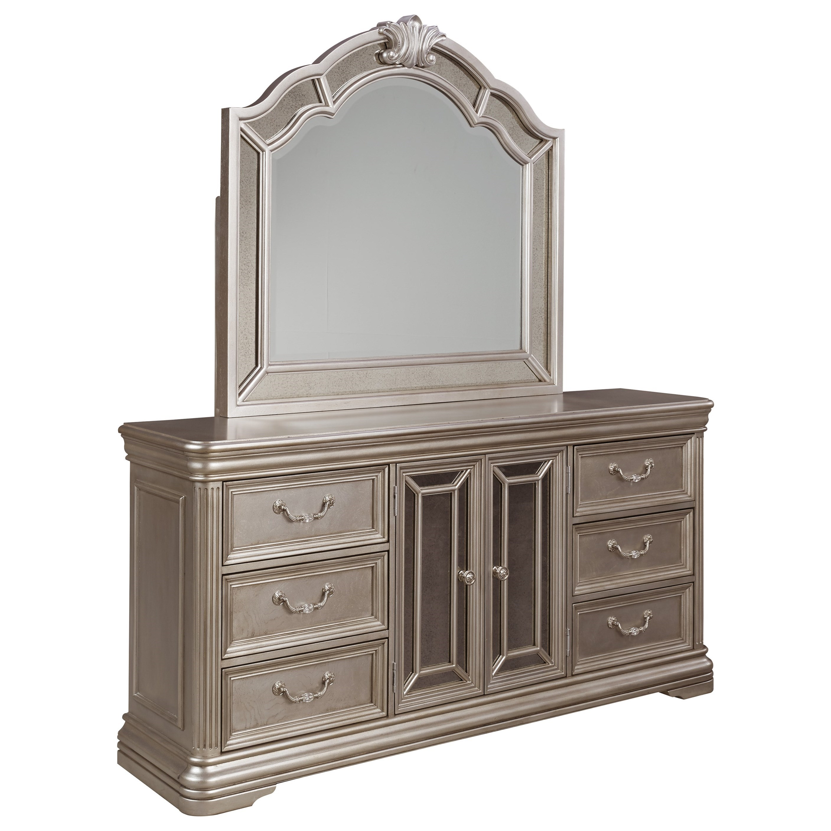 Signature Design By Ashley Birlanny Dresser With Mirror