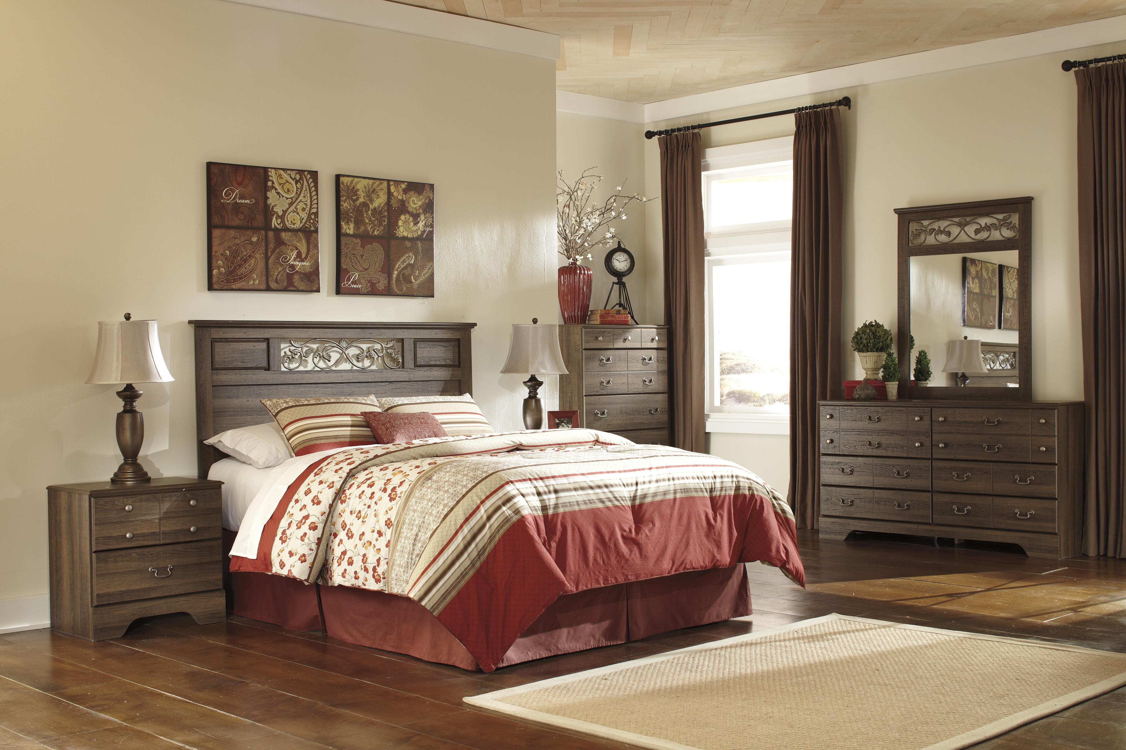 Signature Design By Ashley Allymore Full Queen Bedroom Group Olinde 39 S Furniture Bedroom Group