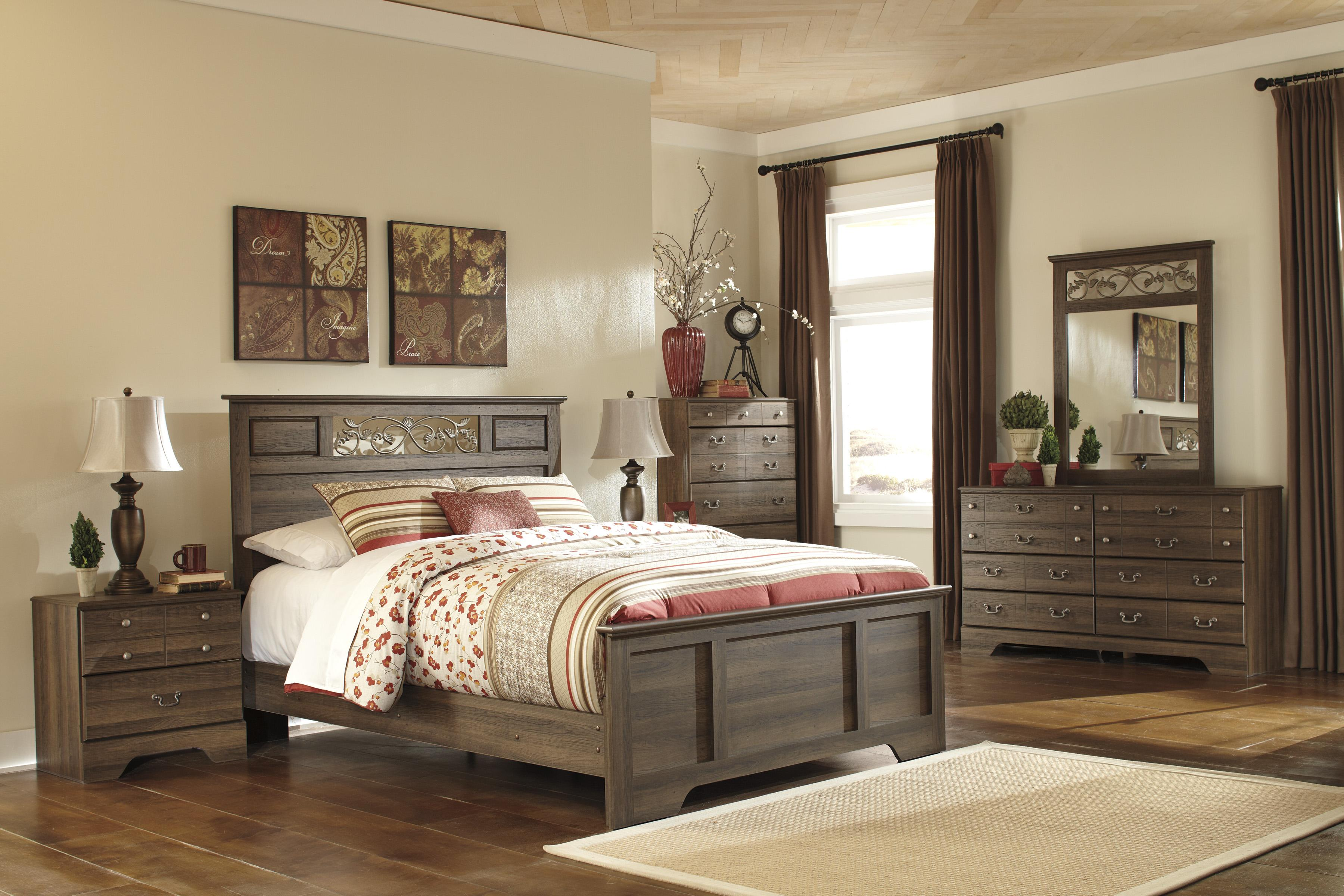 signature design by ashley allymore queen bedroom group