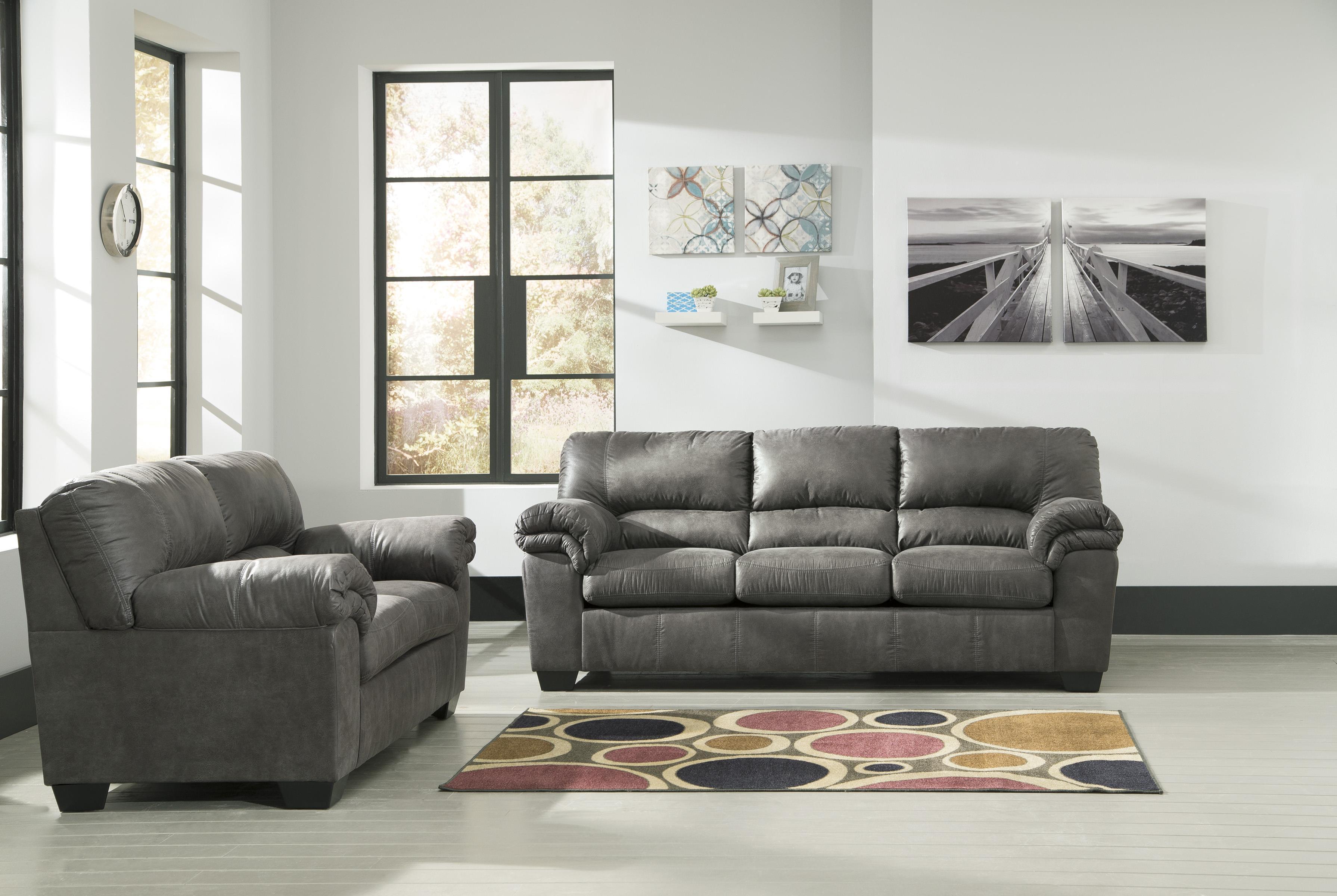 Signature design by ashley bladen stationary living room for Ashley furniture appleton
