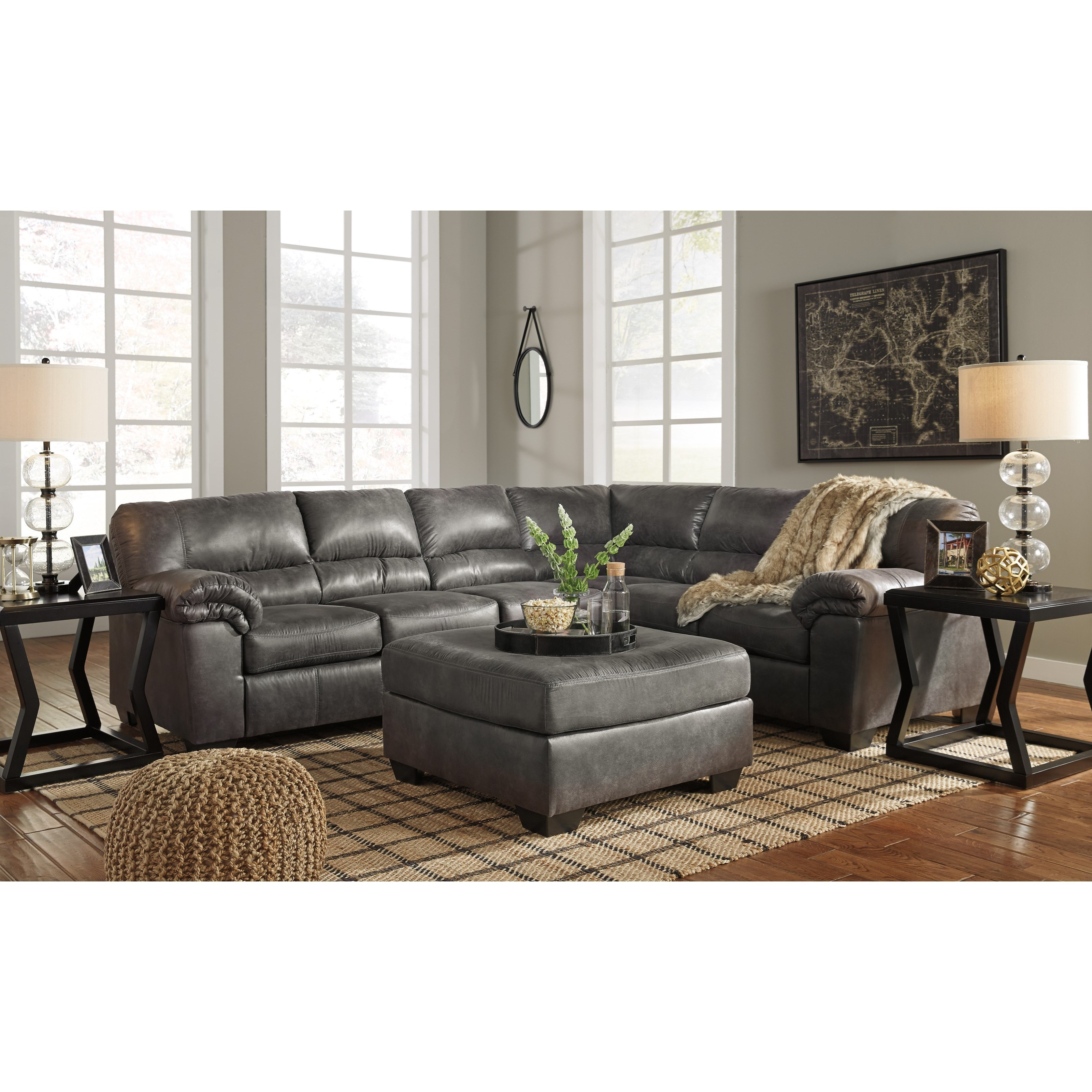 Signature Design By Ashley Bladen Stationary Living Room Group Household Furniture
