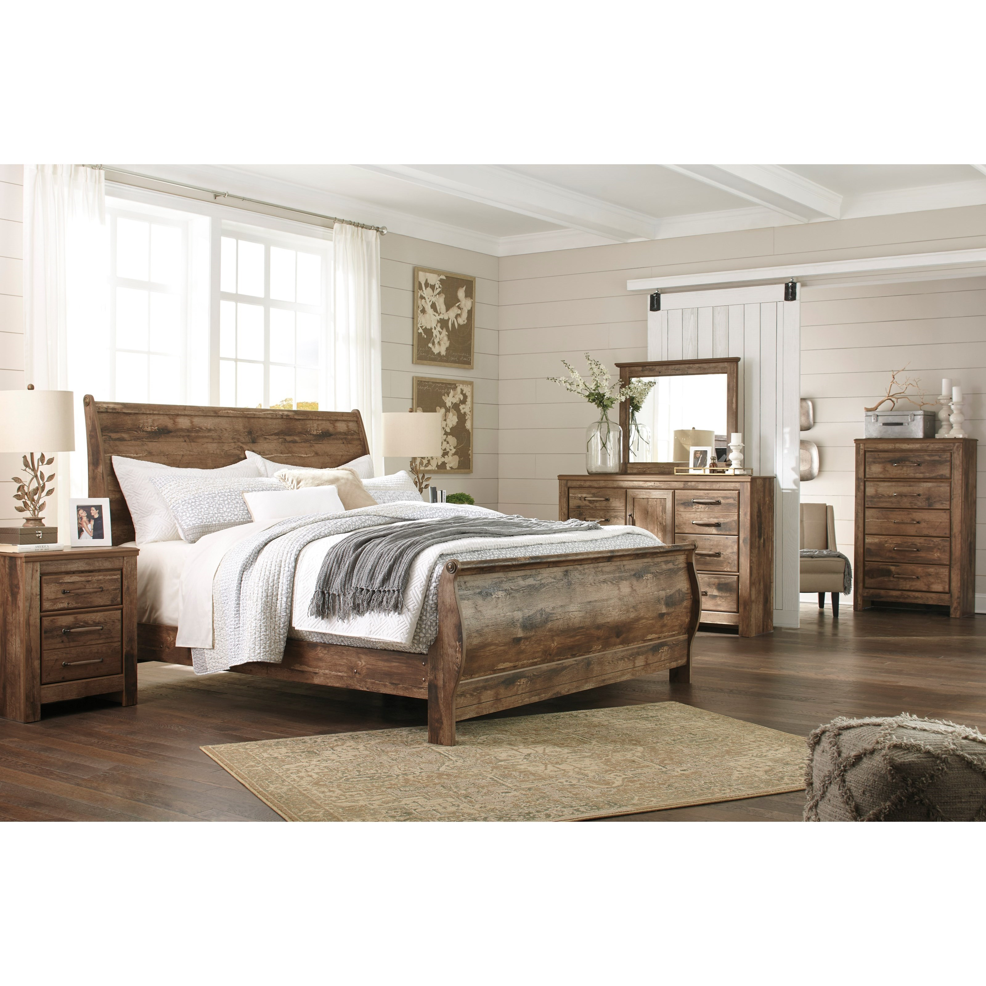 ashley signature design blaneville king bedroom group dunk bright