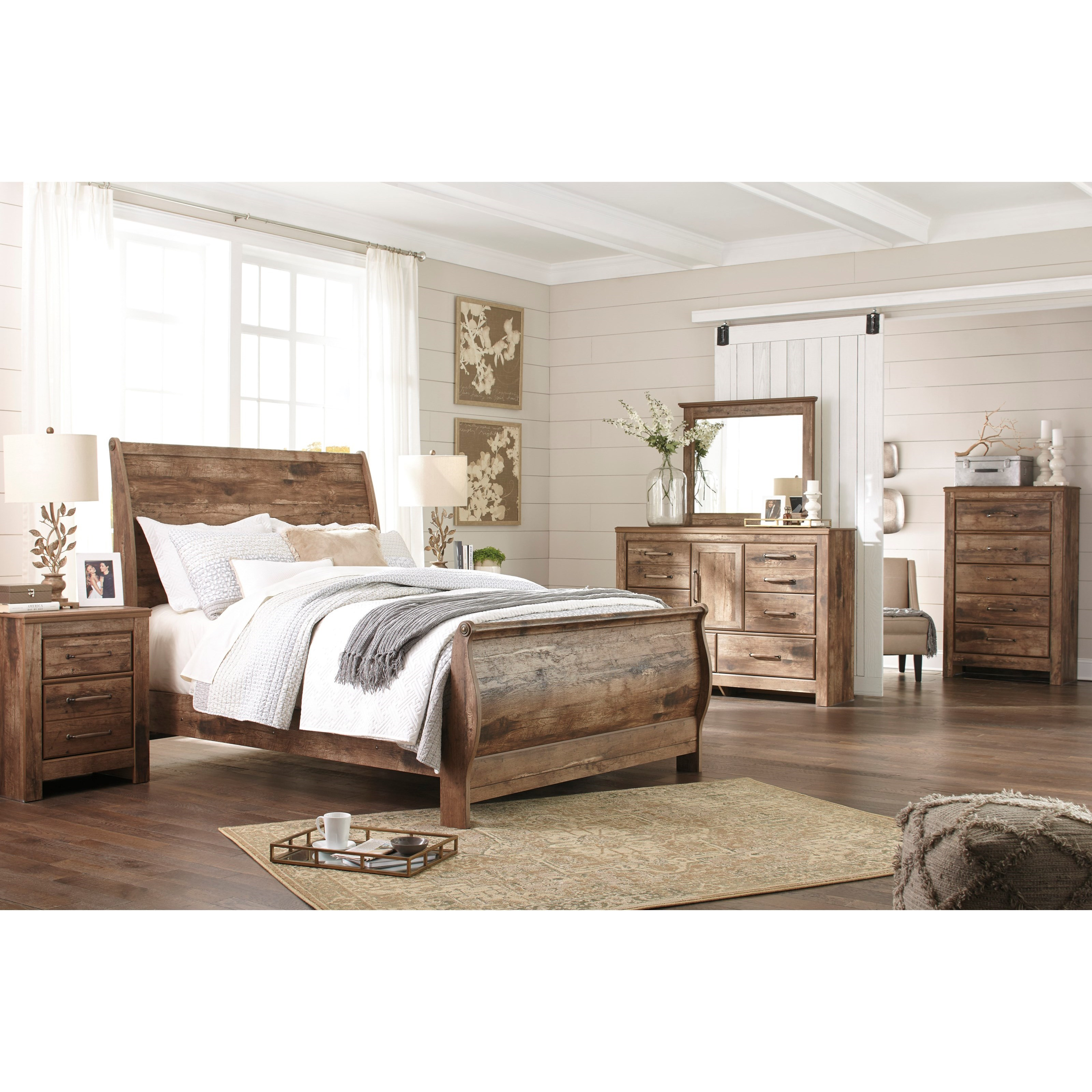 Signature Design By Ashley Blaneville Queen Bedroom Group Del Sol Furniture Bedroom Groups