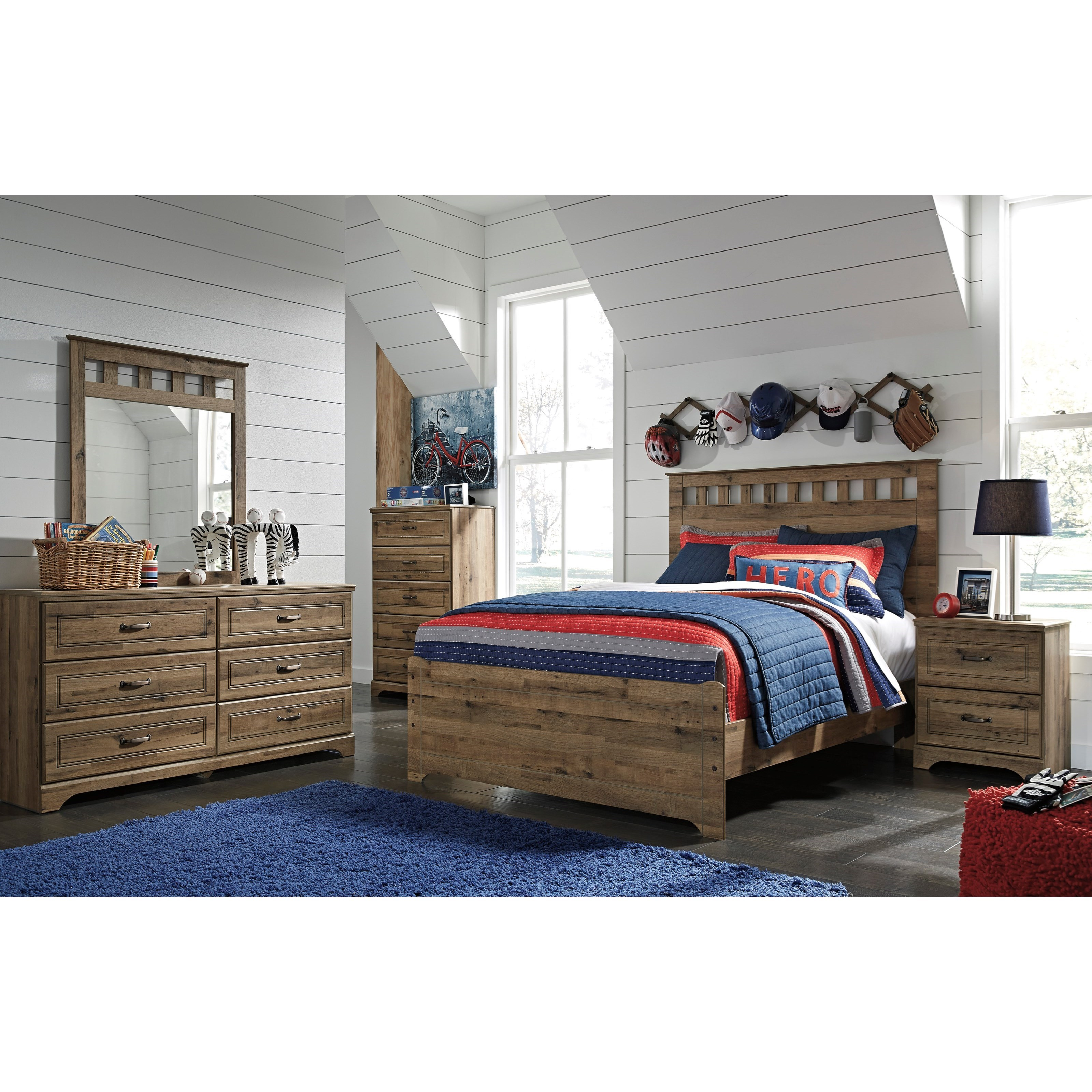 ashley brobern full bedroom group household furniture bedroom