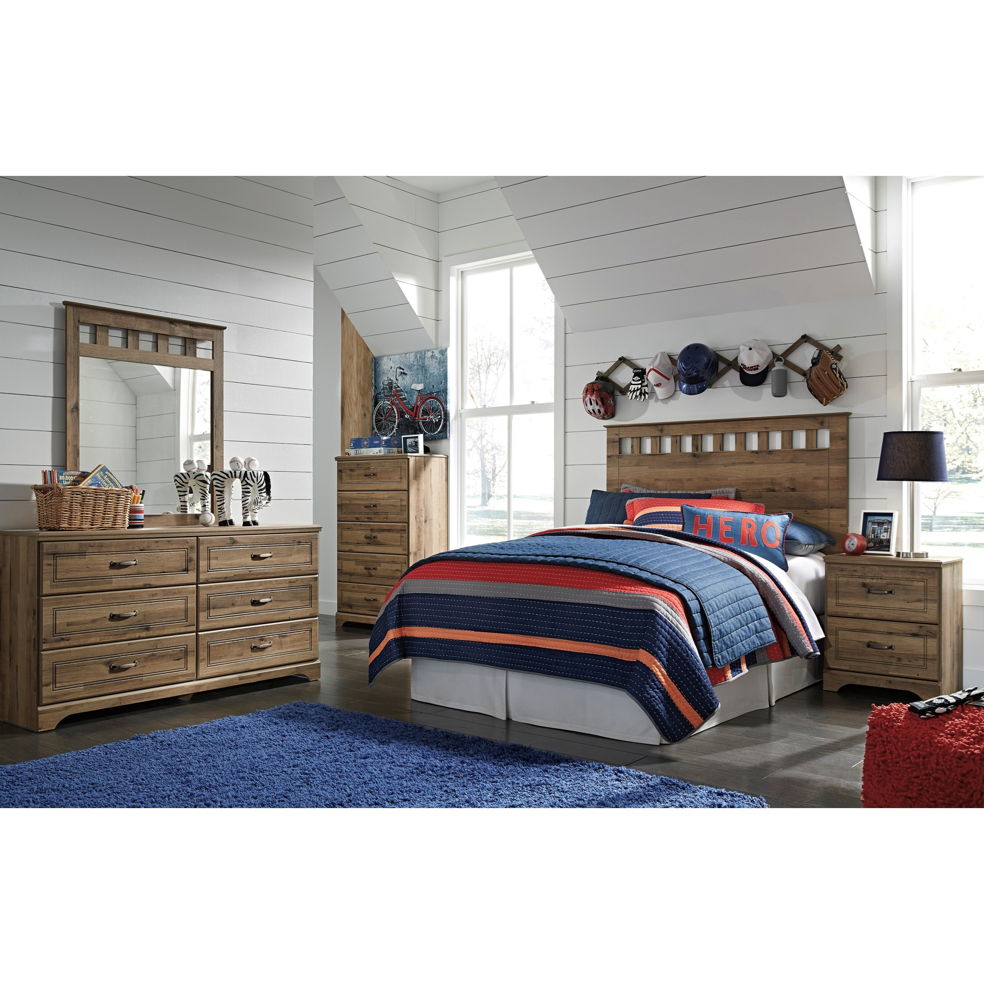 Signature Design by Ashley Brobern Full Bedroom Group