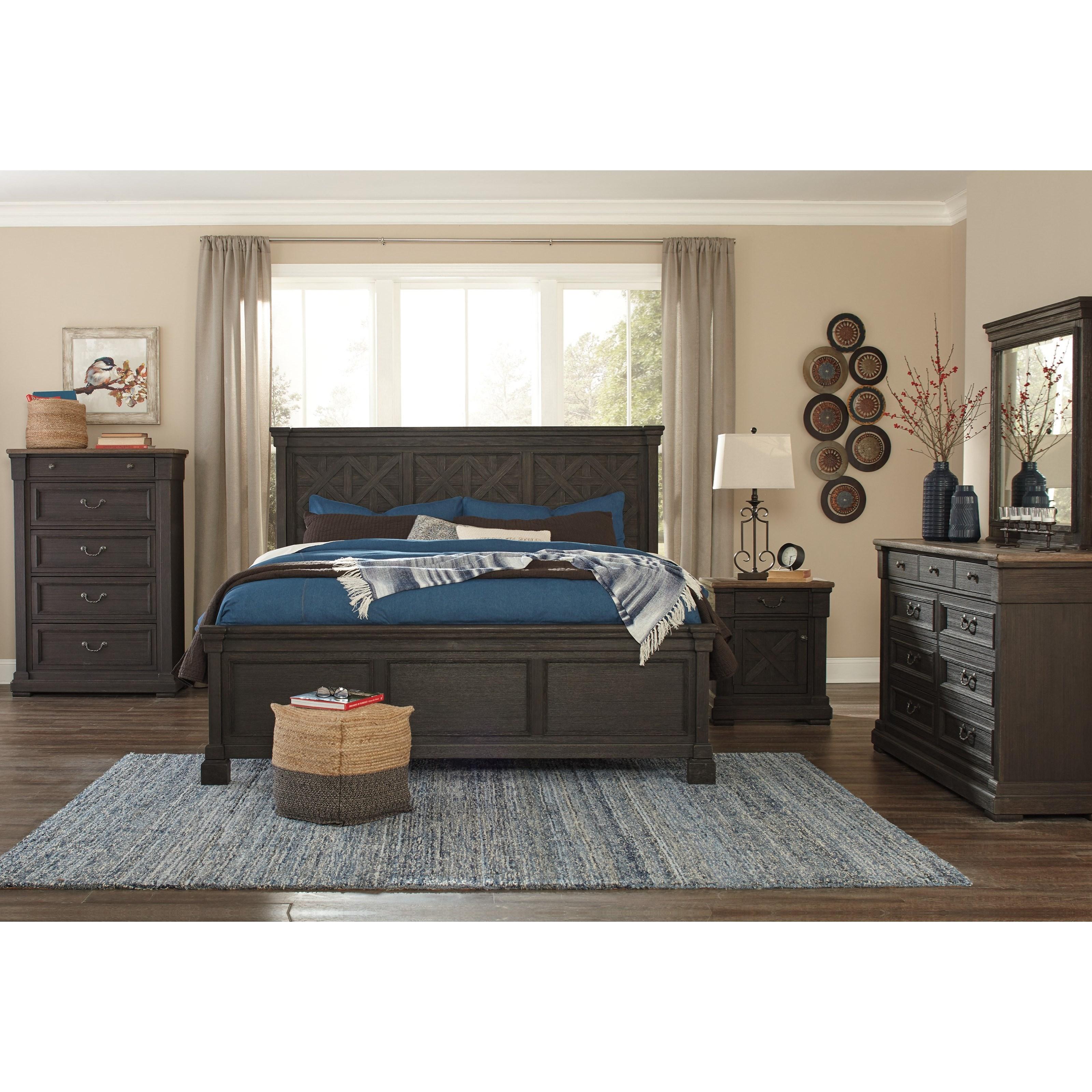 Signature Design By Ashley Tyler Creek California King Bedroom Group Reid 39 S Furniture