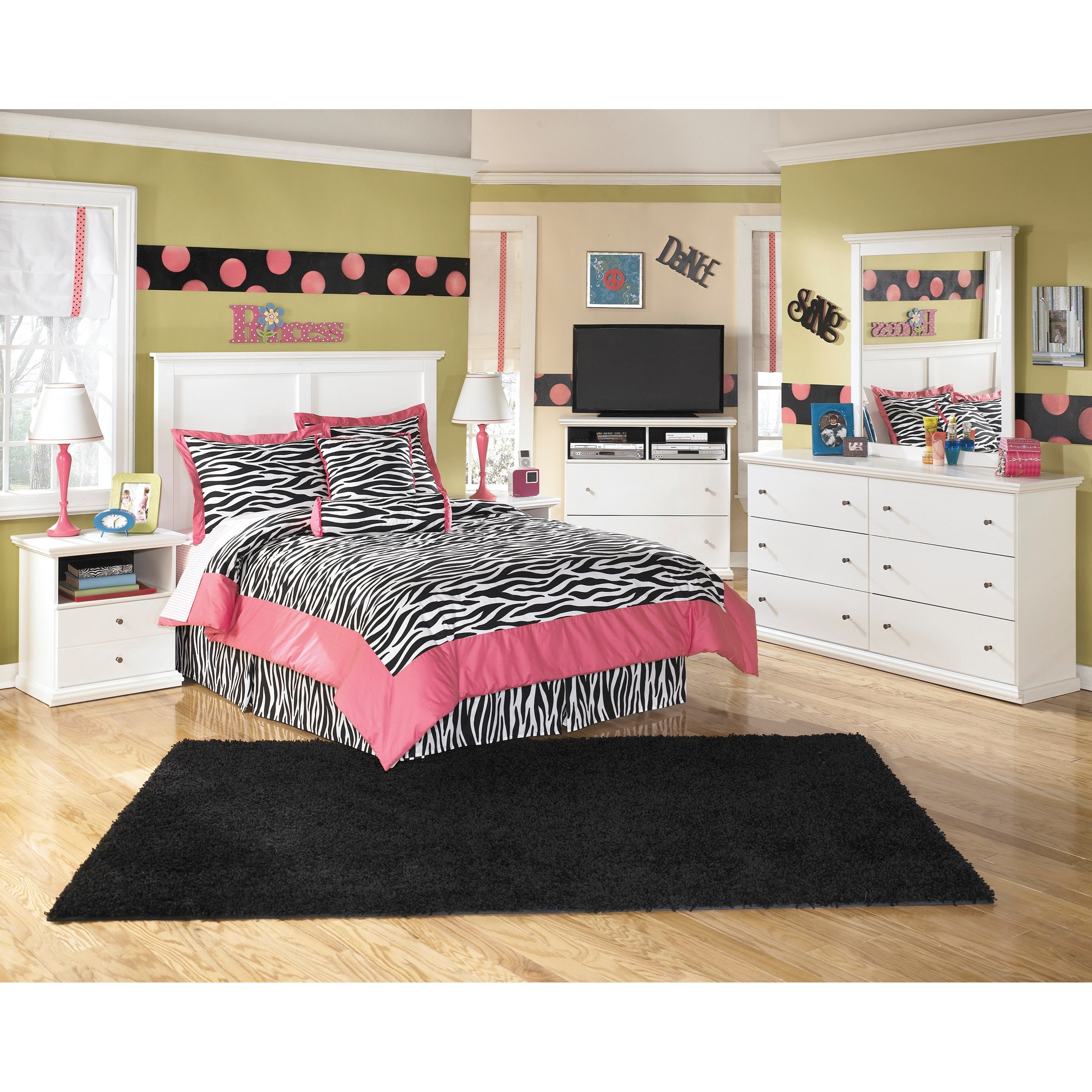 Signature Design by Ashley Bostwick Shoals Full Bedroom Group Becker Furnit