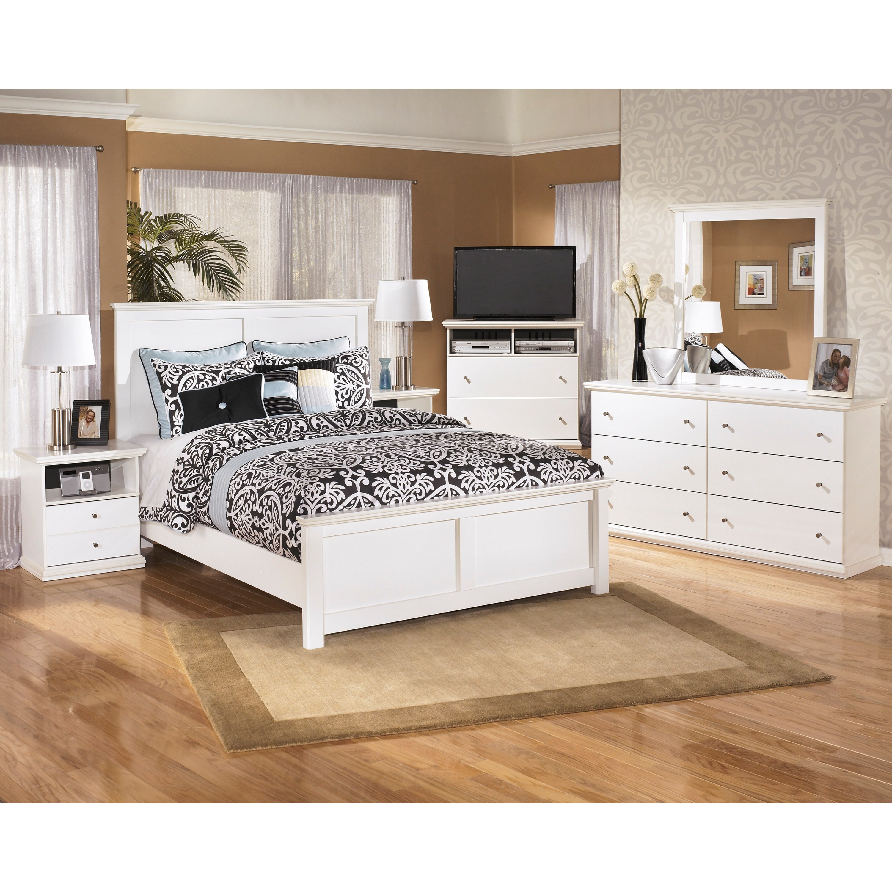 Signature Design By Ashley Bostwick Shoals King Bedroom Group Wayside Furniture Bedroom Groups