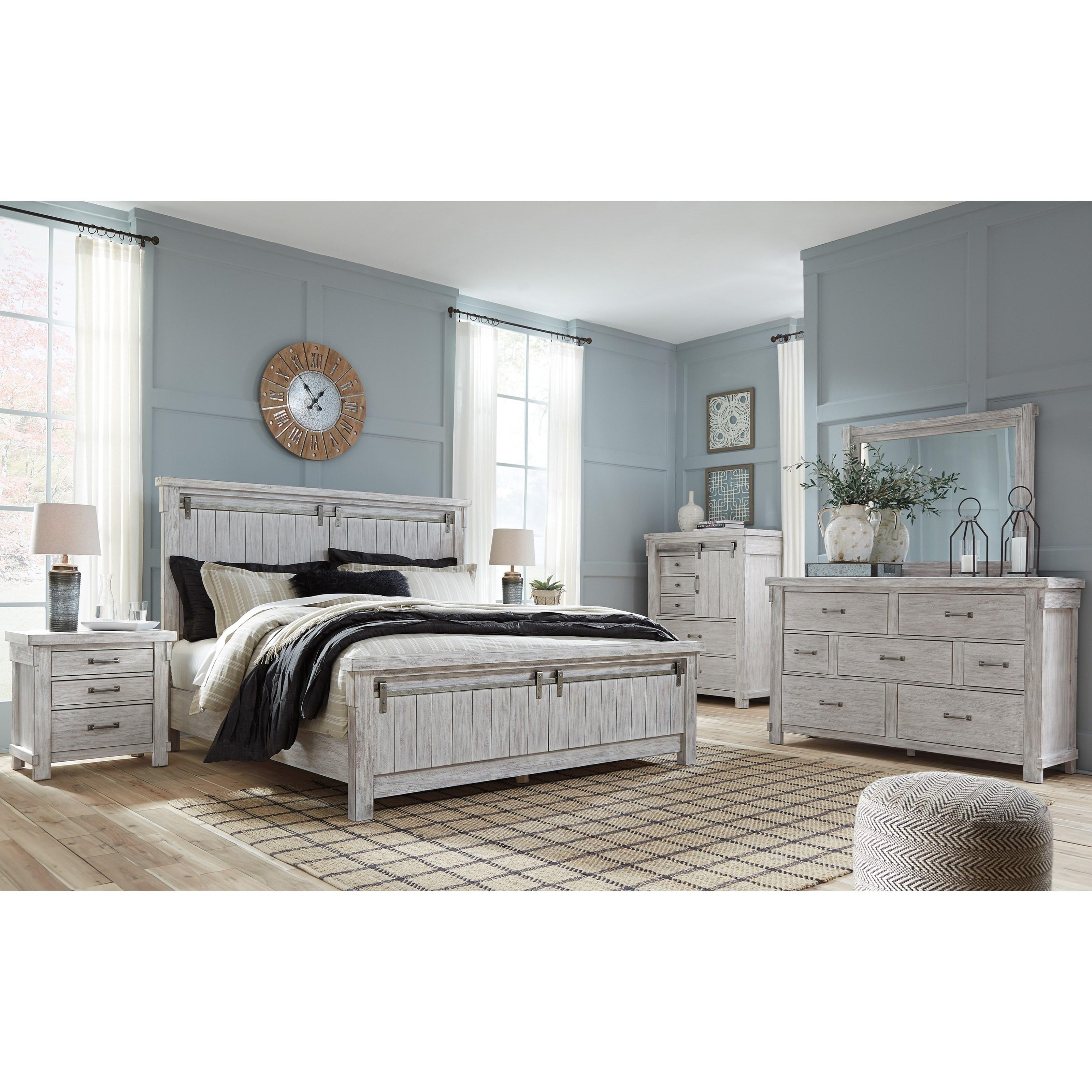signature design by ashley brashland queen bedroom group becker furniture world bedroom groups On bedroom groups