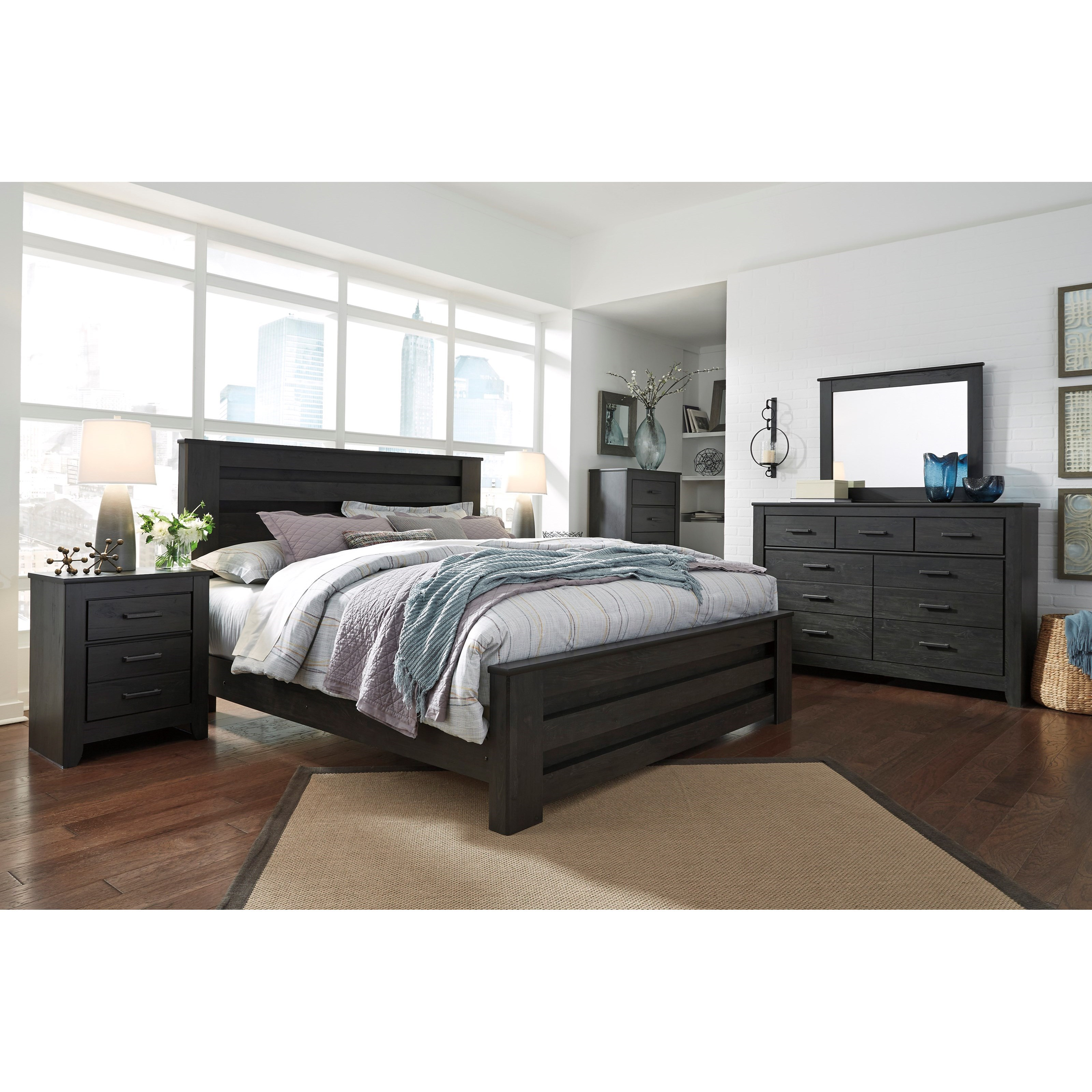 Signature Design by Ashley Brinxton King Bedroom Group