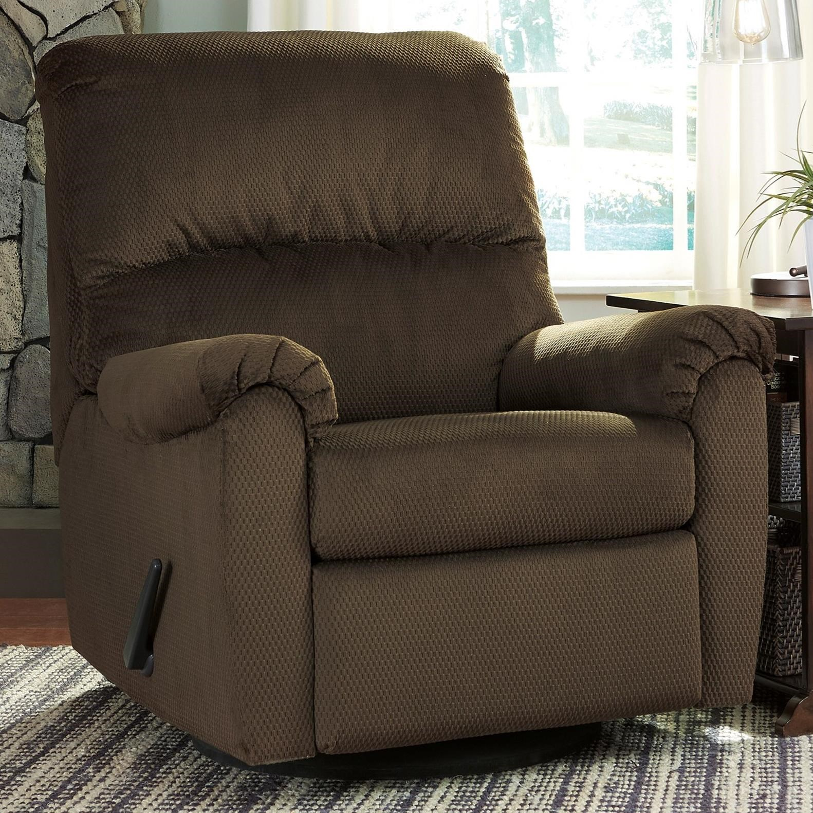 Signature Design By Ashley Bronwyn Swivel Glider Recliner With 360 Degree Swivel Rife 39 S Home