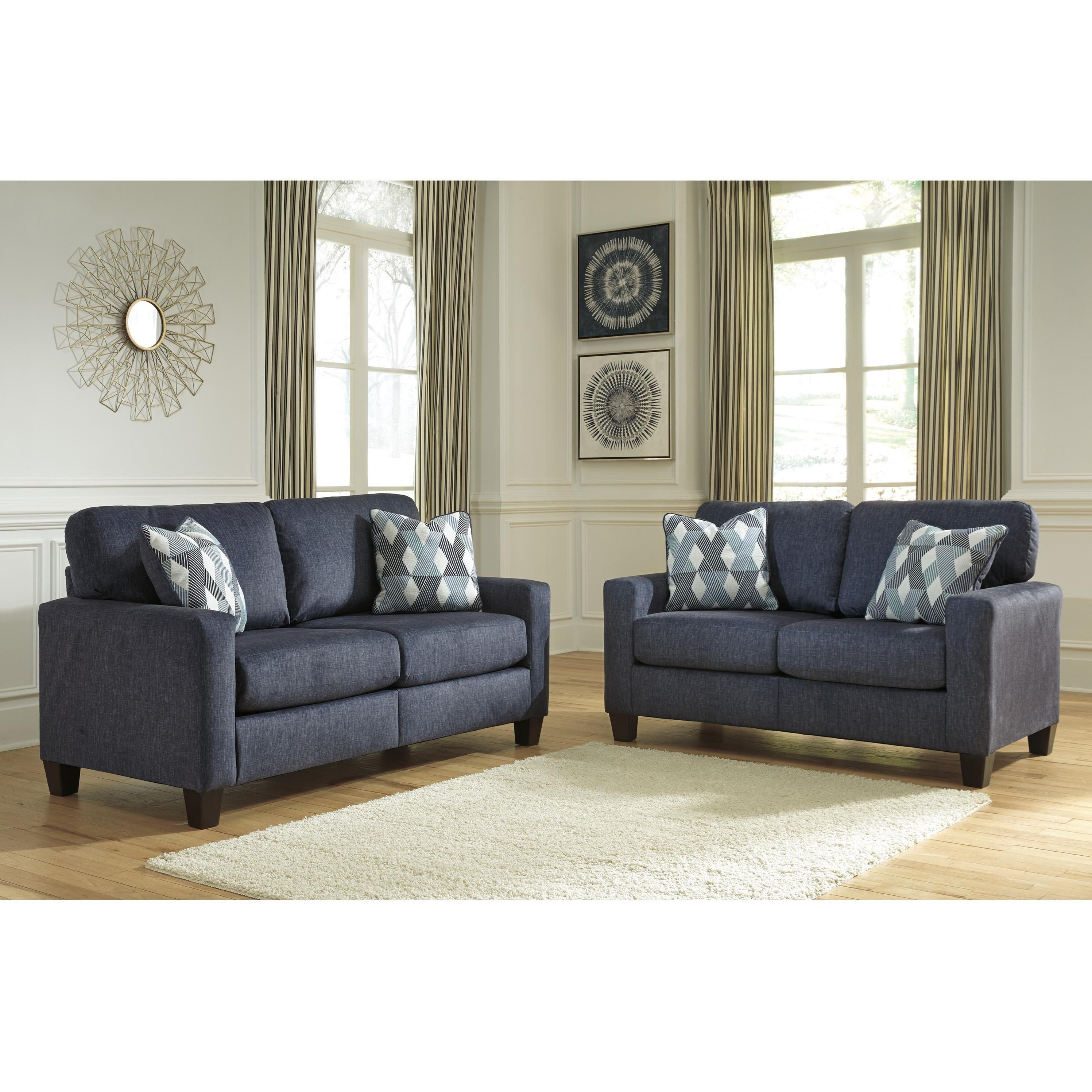 Styleline Burgos Living Room Group Efo Furniture Outlet Stationary Living Room Groups