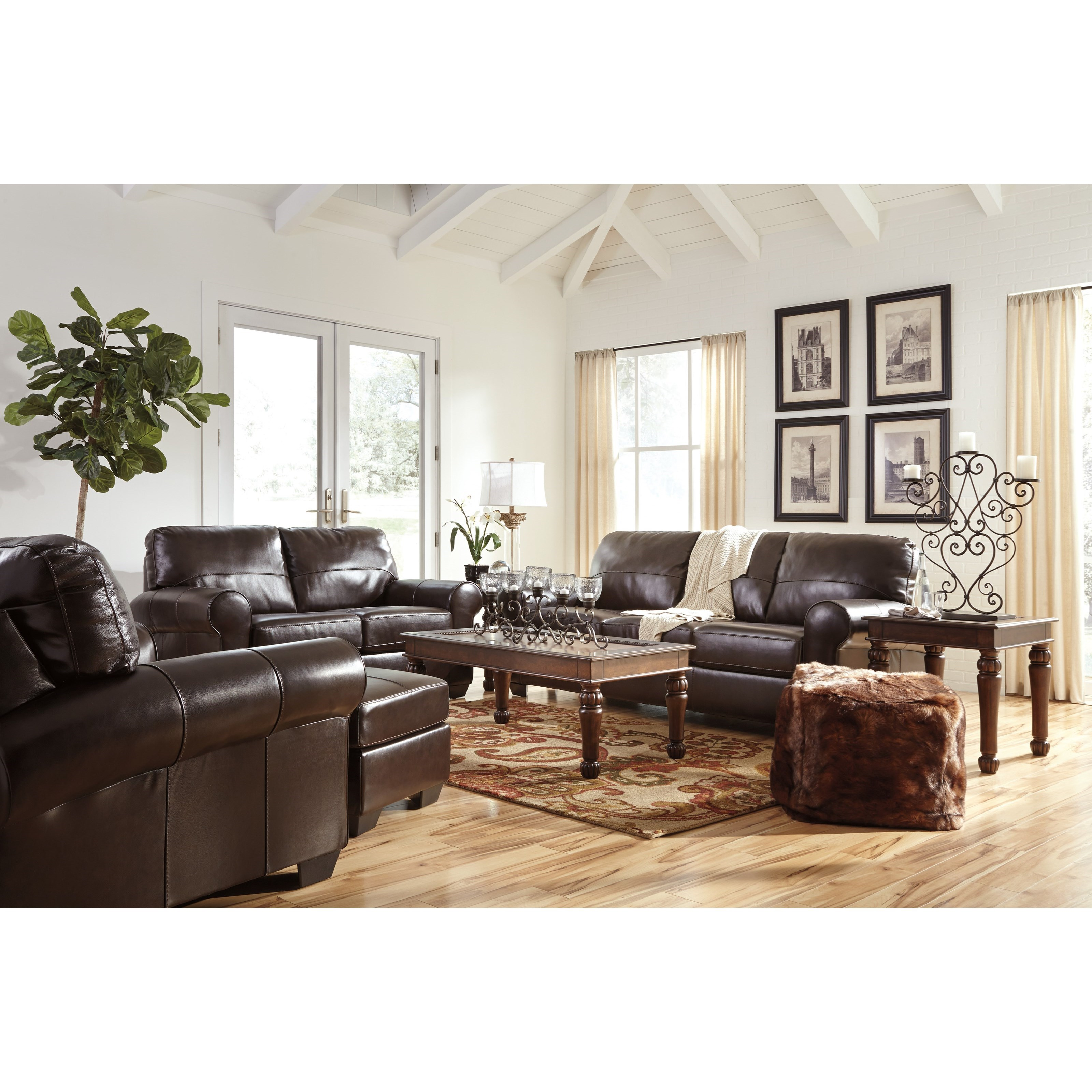 Signature Design By Ashley Canterelli Stationary Living Room Group Olinde 39 S Furniture