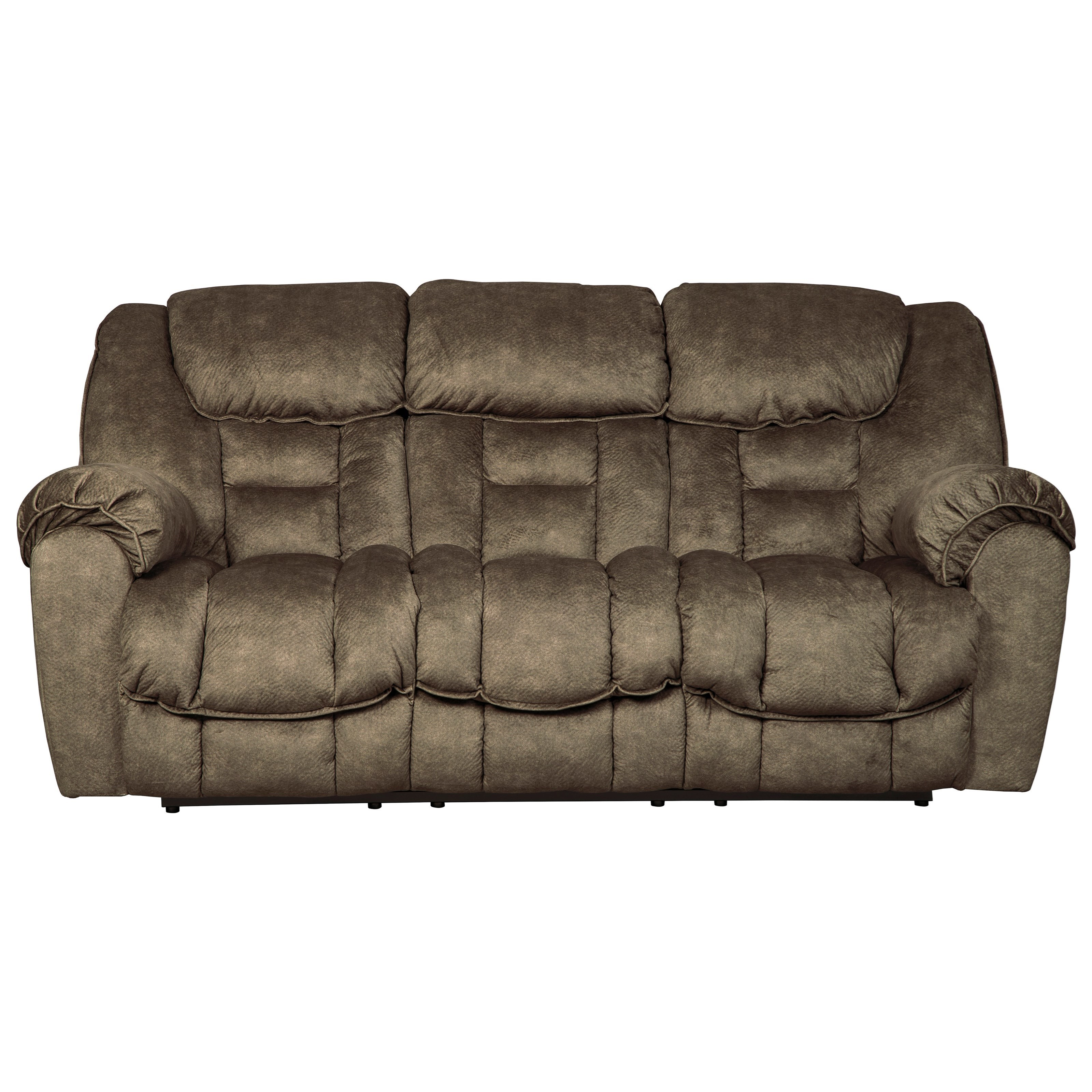 Benchcraft capehorn casual contemporary reclining sofa for Casual couch