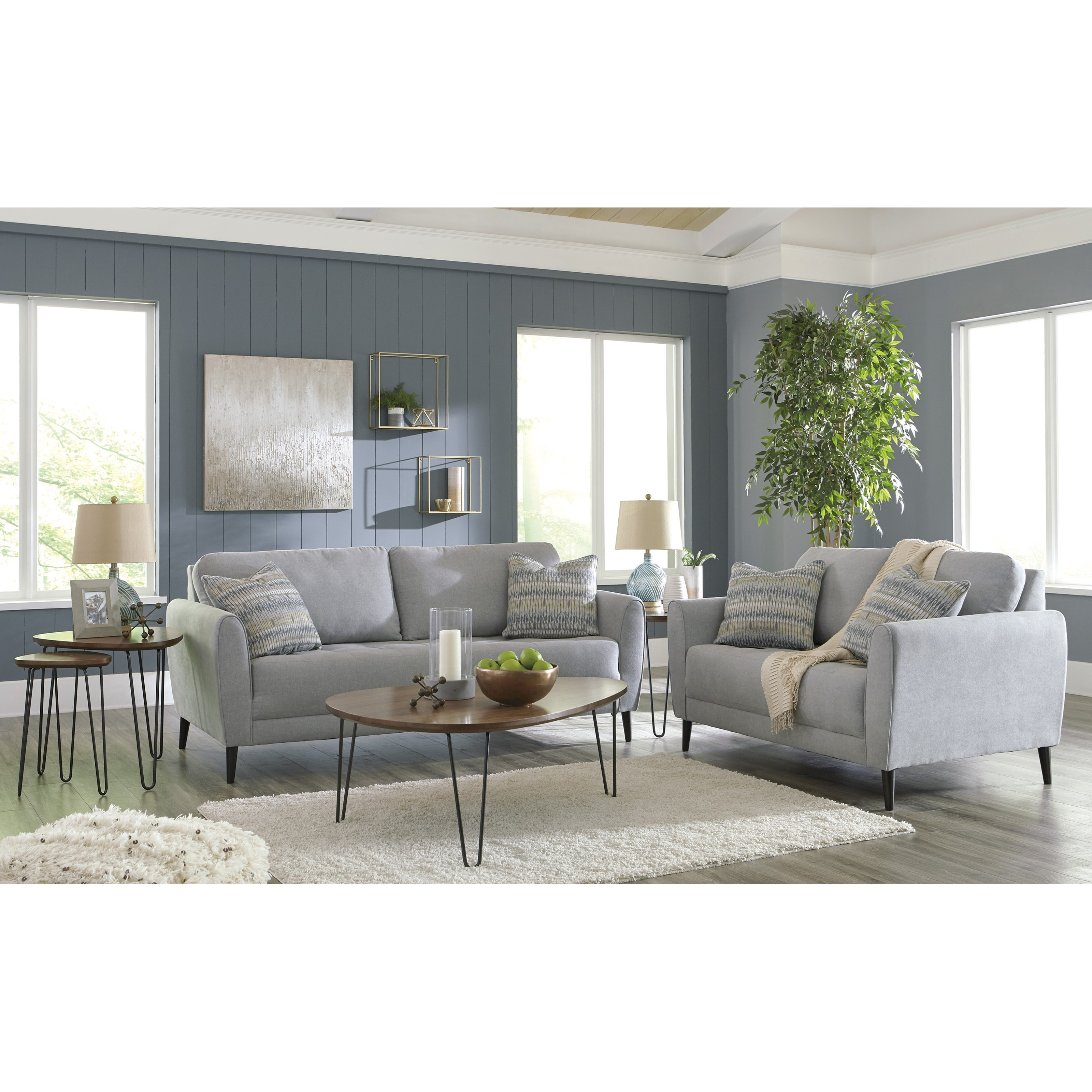 Signature design by ashley cardello living room group for Living room furniture groups