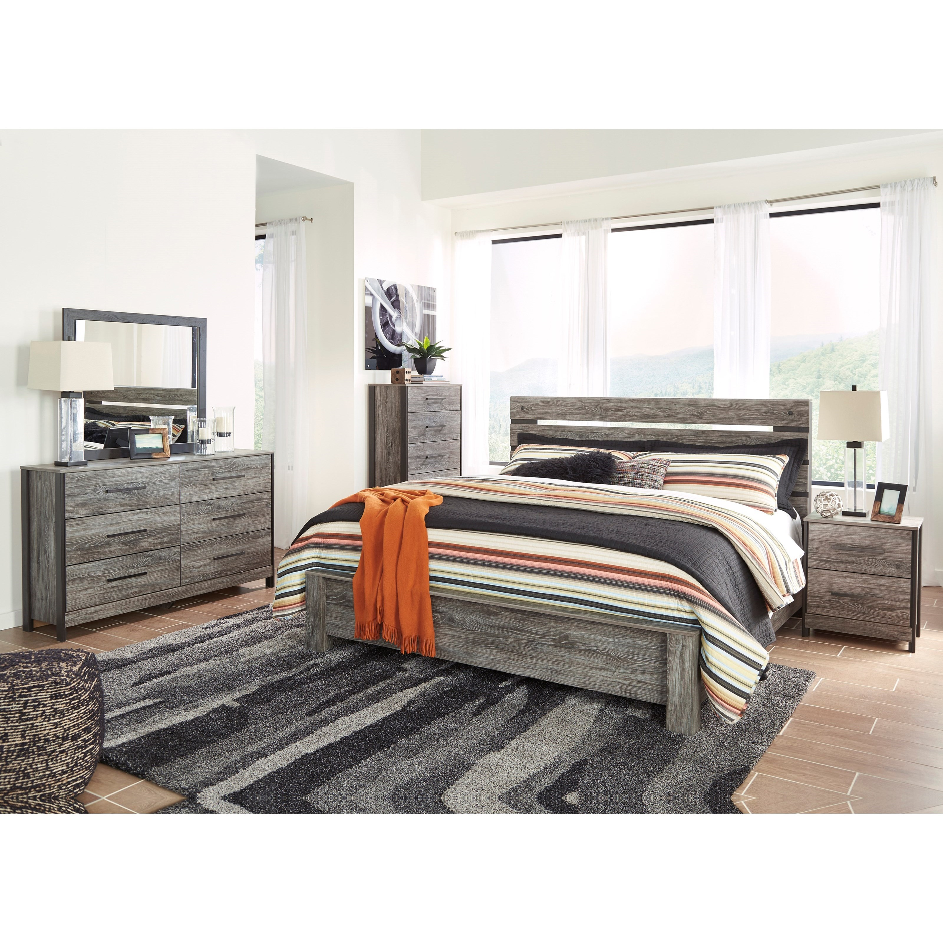 Signature Design by Ashley Cazenfeld King Bedroom Group