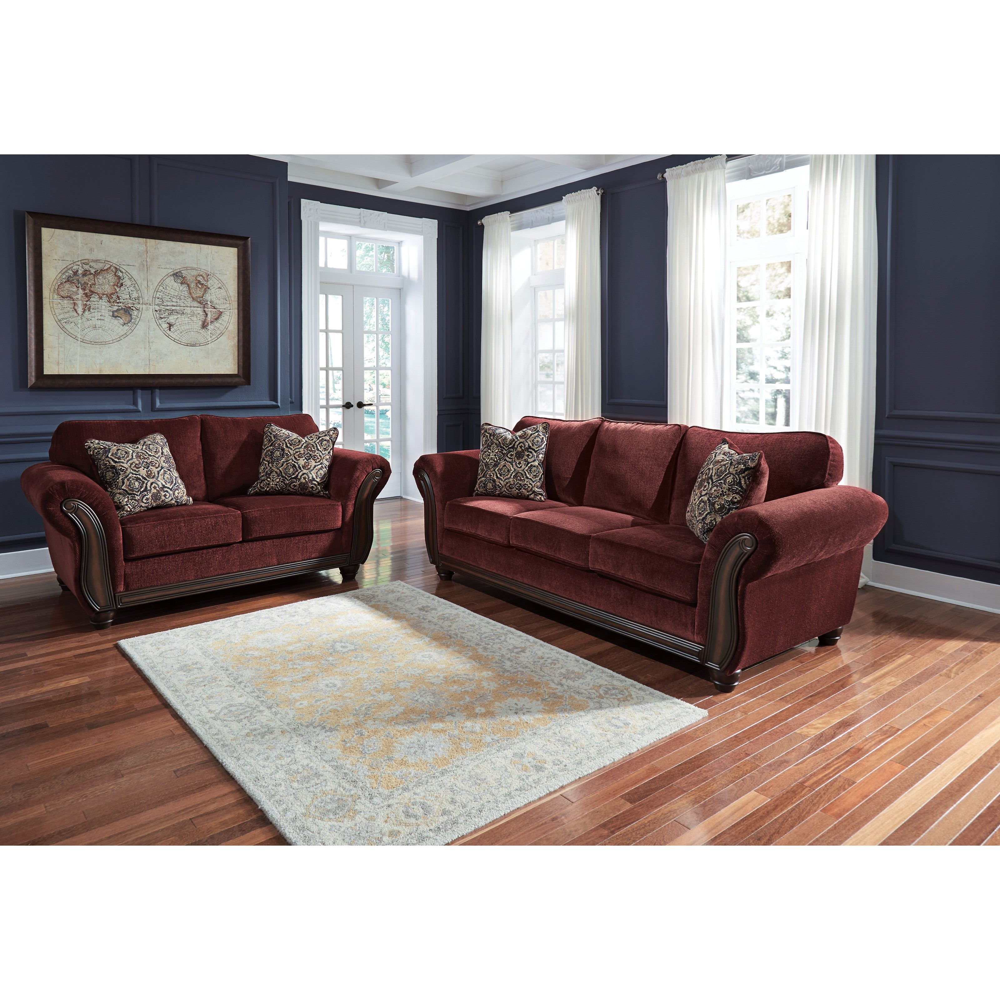 Styleline Chesterbrook Stationary Living Room Group Efo Furniture Outlet Upholstery Group
