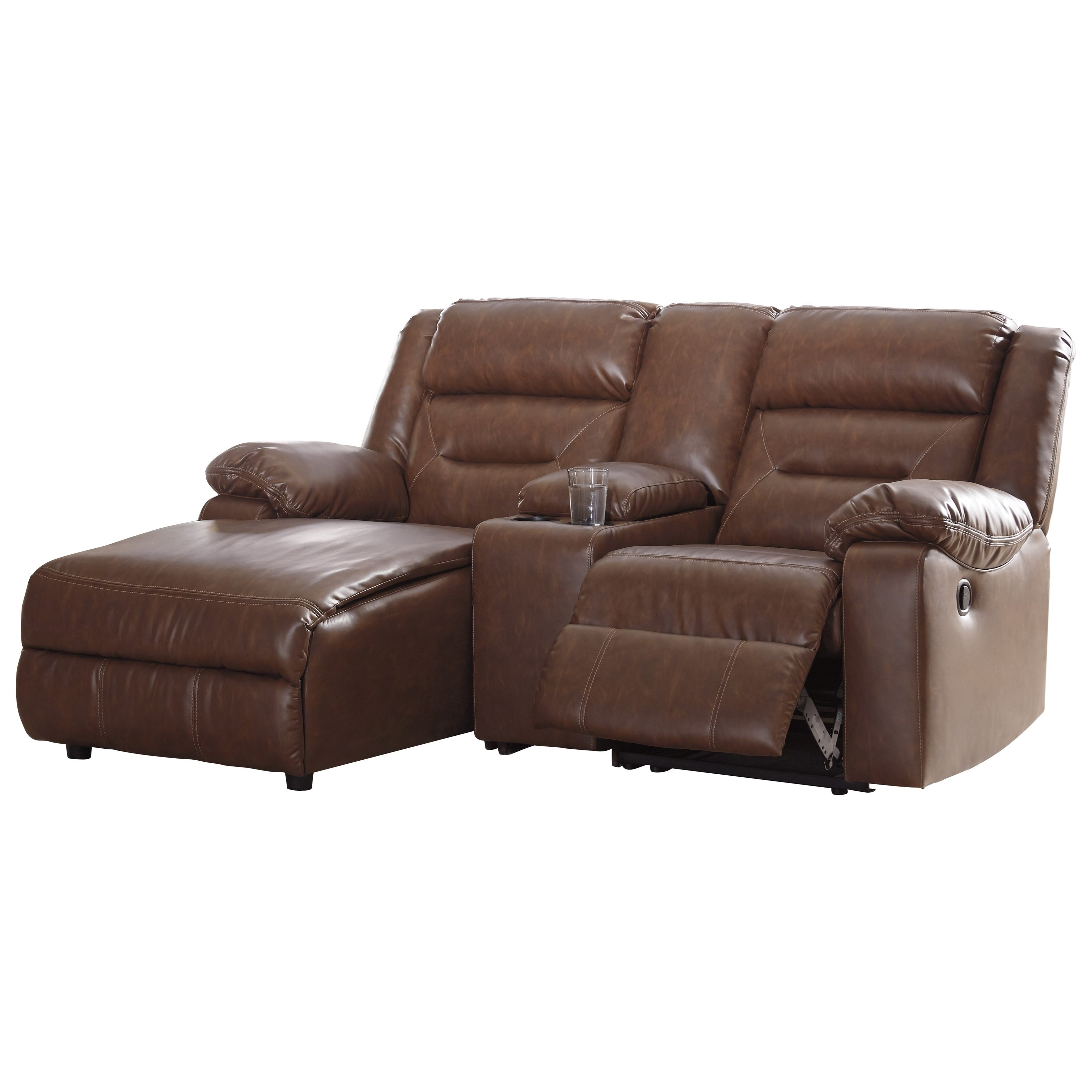 Sectional Sofas By Ashley Furniture: Signature Design By Ashley Coahoma 3-Piece Sectional Sofa