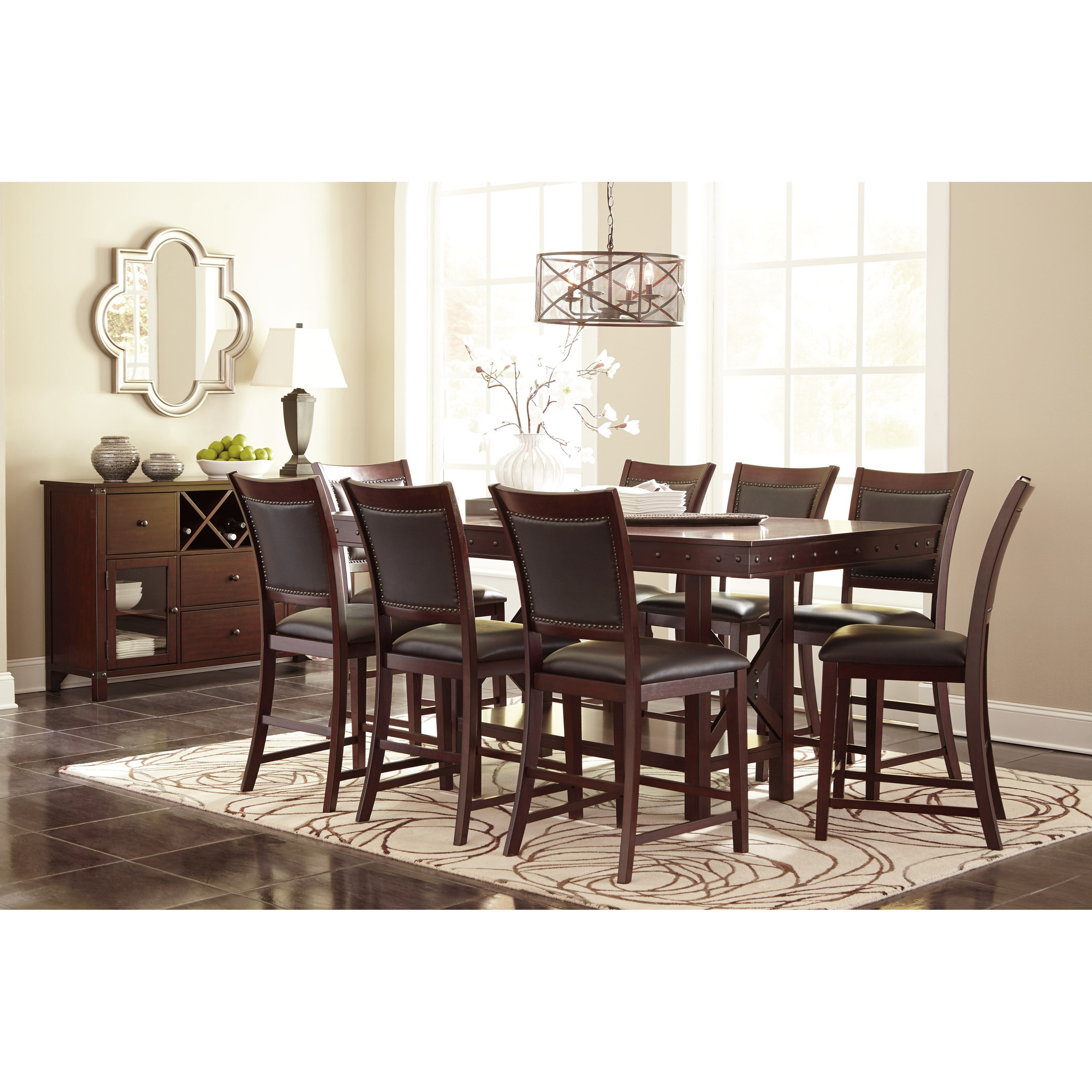 Signature design by ashley collenburg casual dining room for Casual dining room furniture